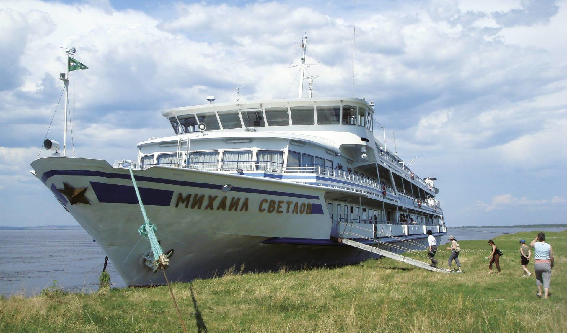 MS Michail Swetlow Abenteuer Lena ab Jakutsk: Lena