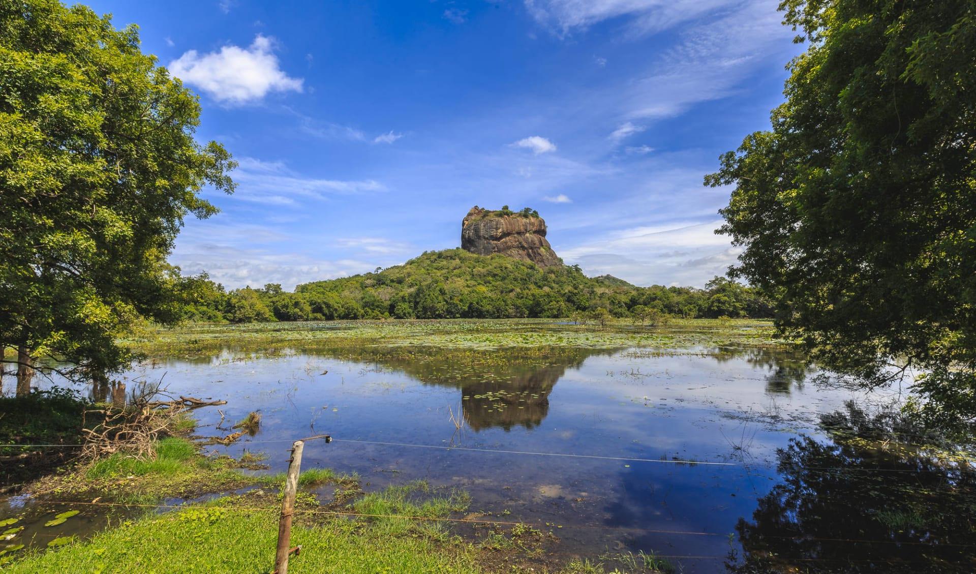 Östliches Sri Lanka im Sommer ab Colombo: Lion Rock and Lake, Sigiriya