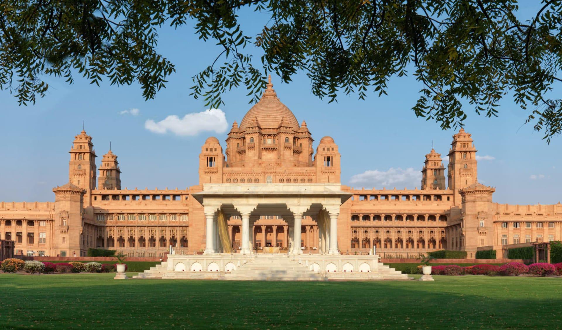 Umaid Bhawan Palace in Jodhpur: