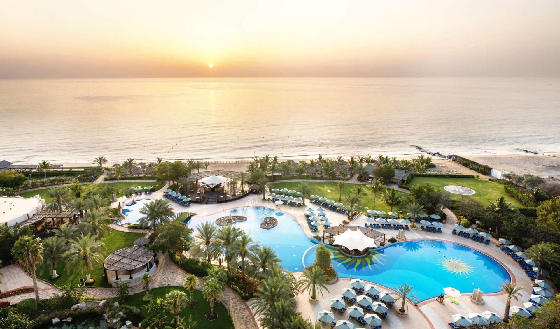 Le Meridien al Aqah Beach Resort in Fujairah: