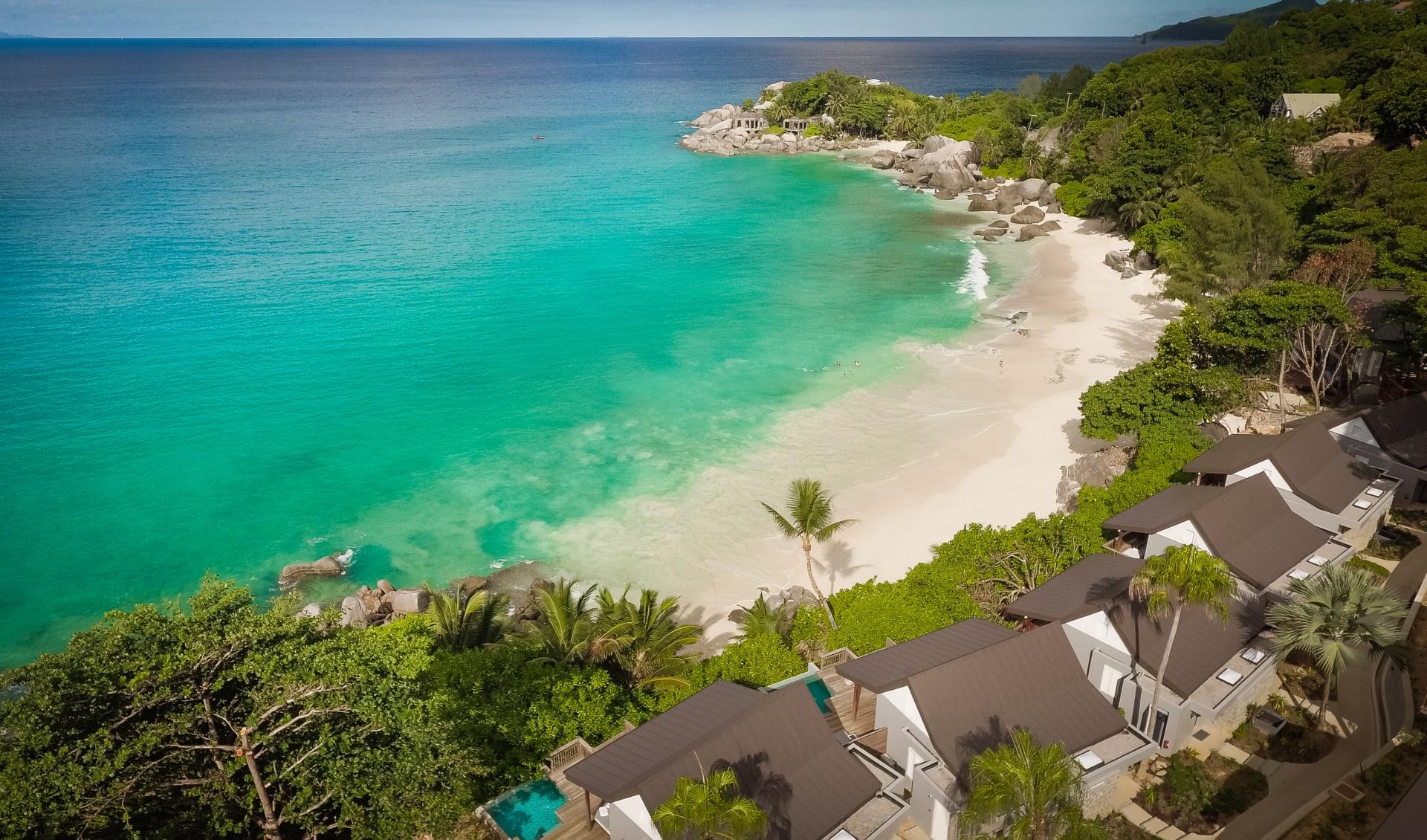 Carana Beach Hotel in Mahé: