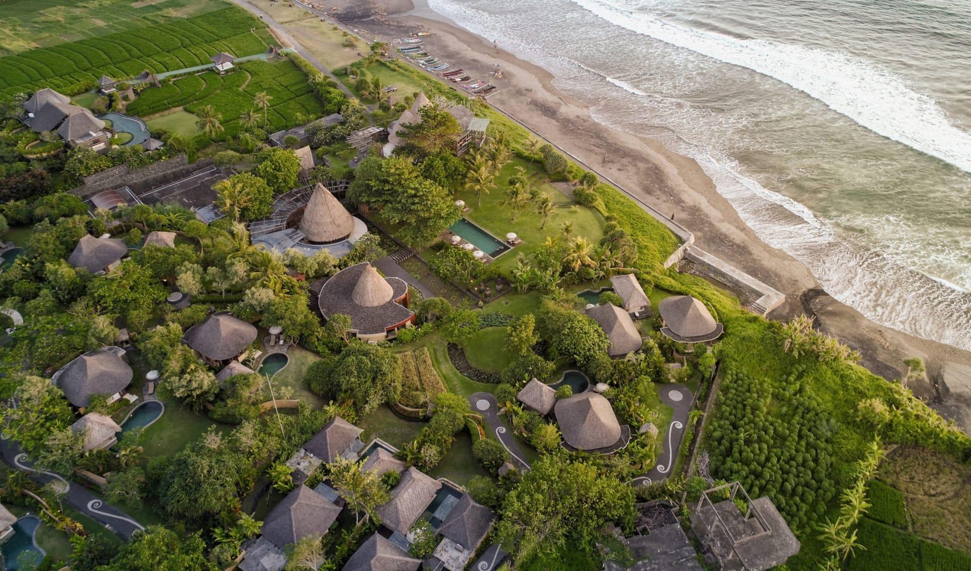 WakaGangga in Südbali: Aerial View