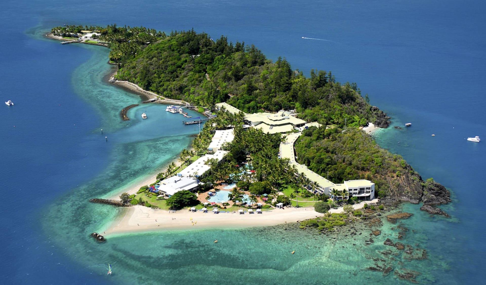 Daydream Island Resort:  Daydream Island Resort & Spa - Vogelperspektive