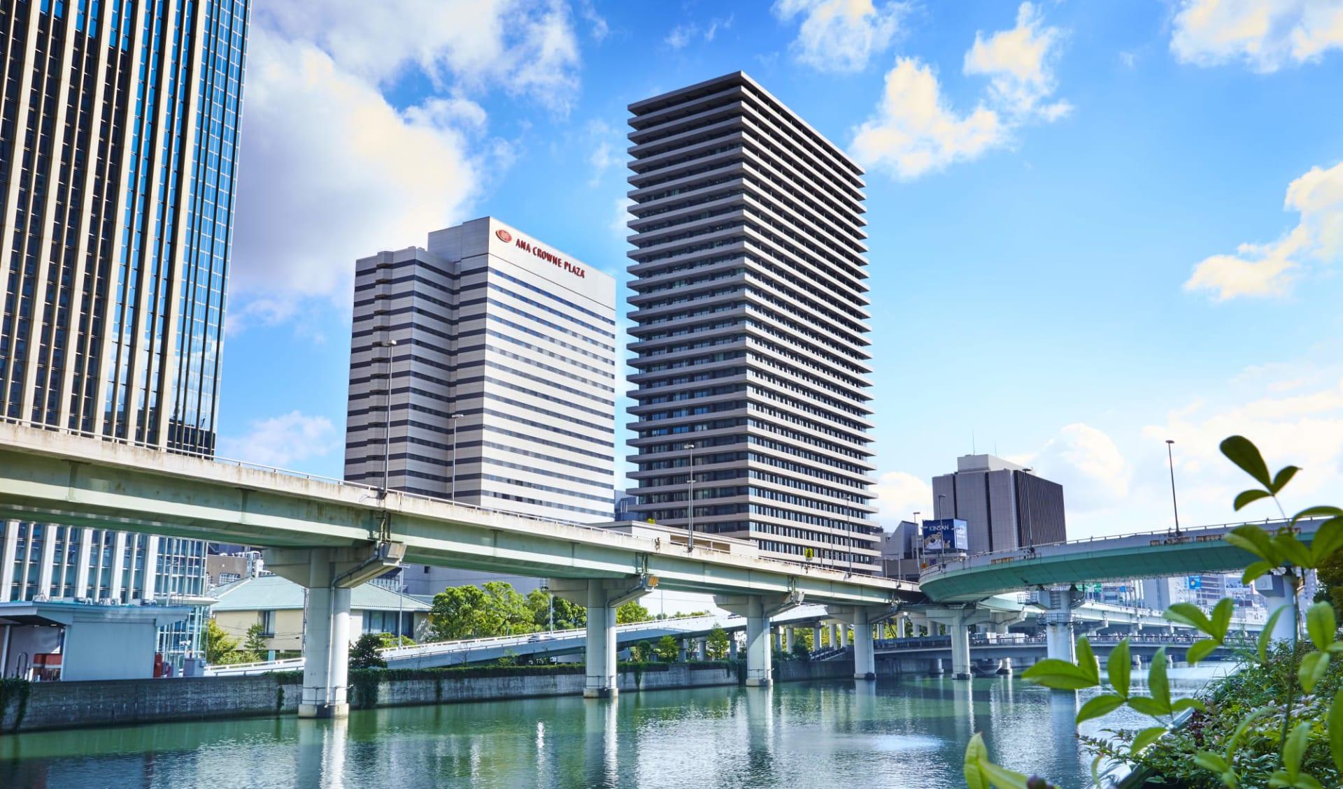 ANA Crowne Plaza in Osaka: Location