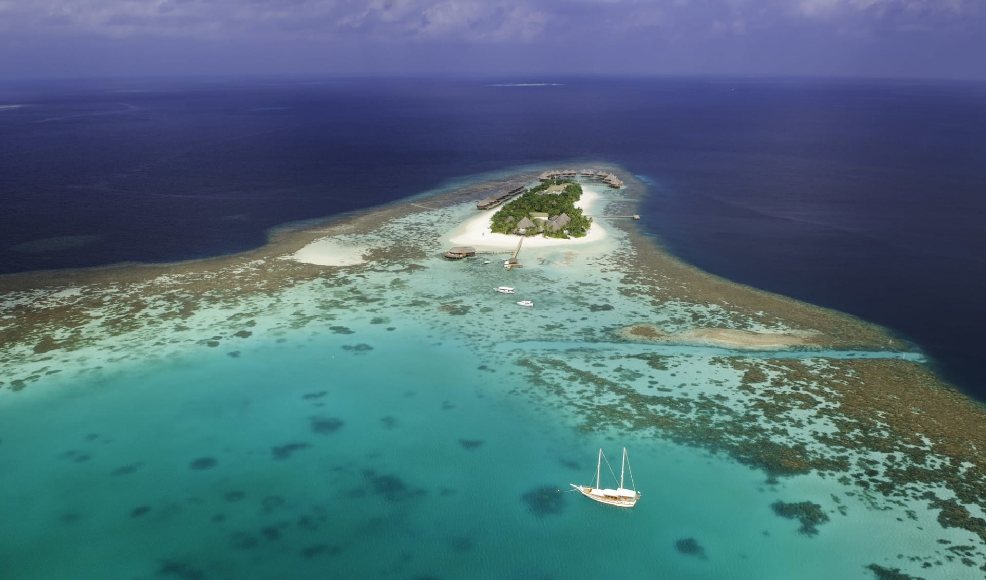 Mirihi Island in Ari-Atoll: