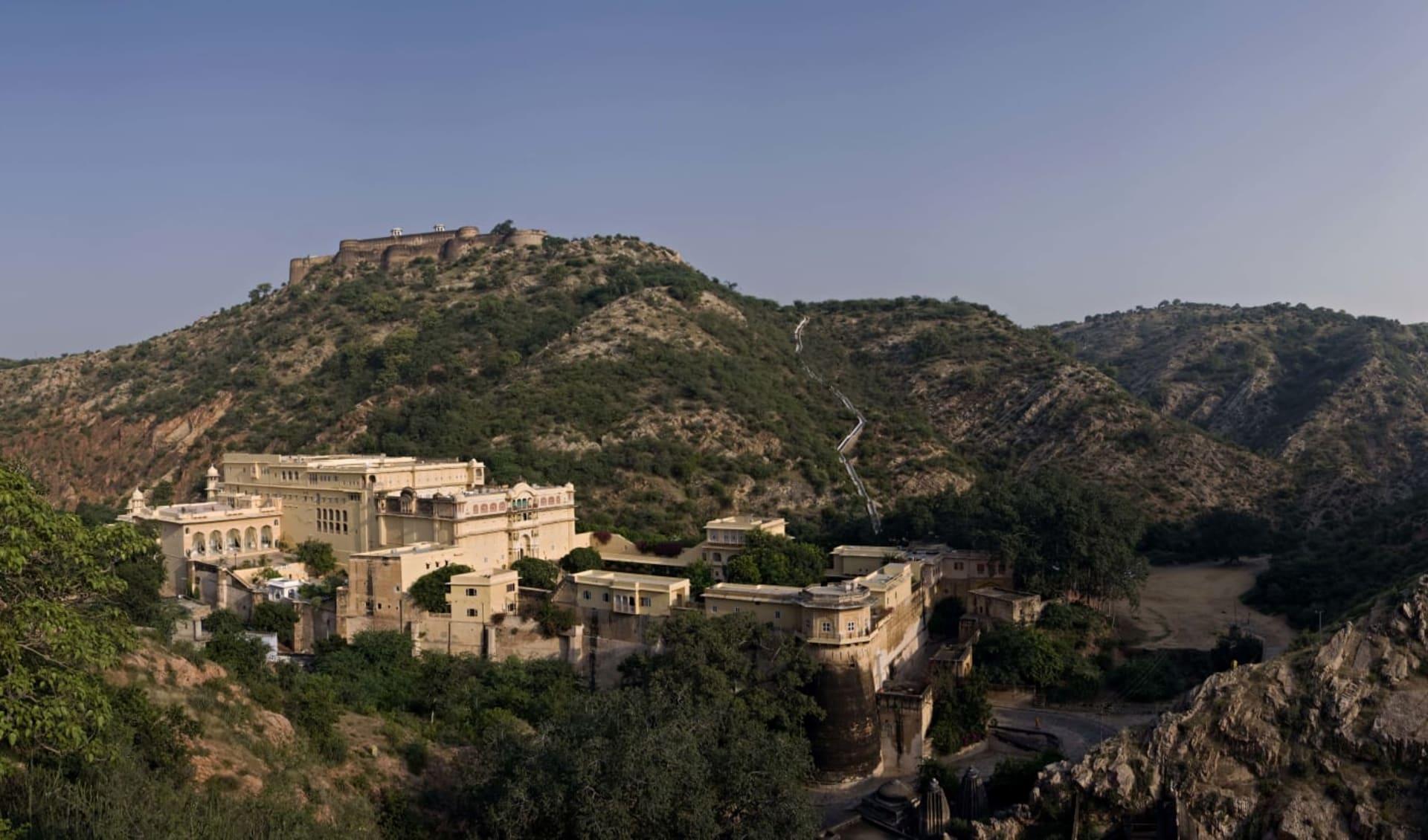 Samode Palace in Jaipur: Panorama View