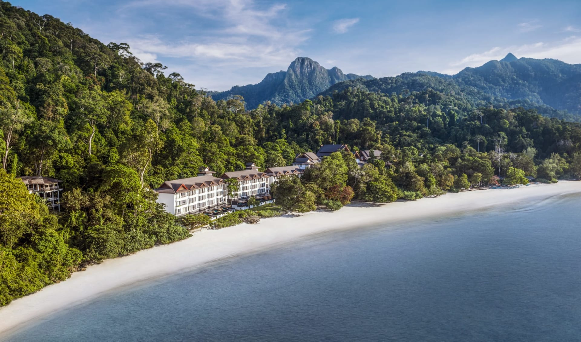 The Andaman in Langkawi: The Andaman uniquely set in the rainforest between the Mat Cincang mountain