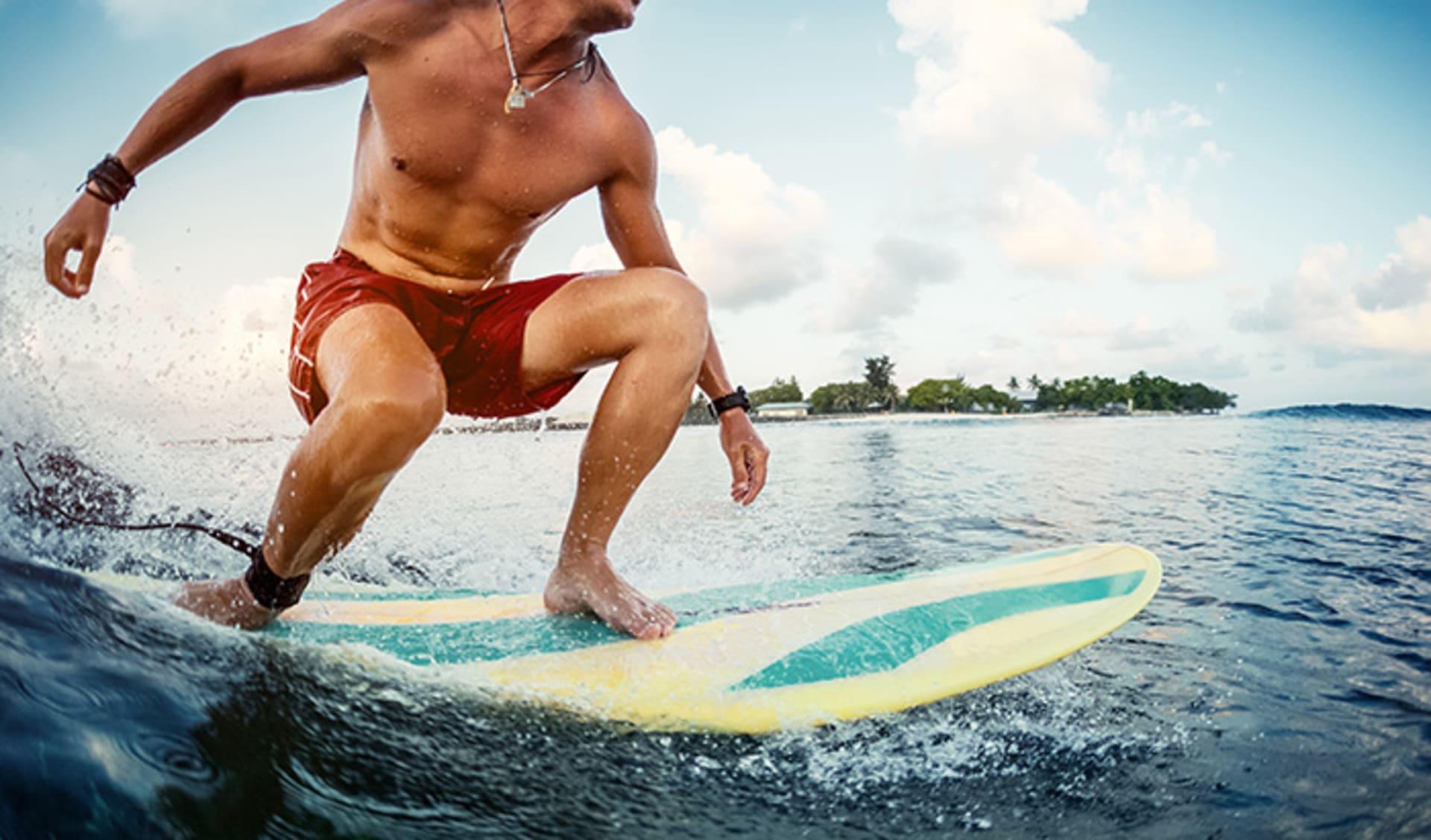 Surfen, Malediven