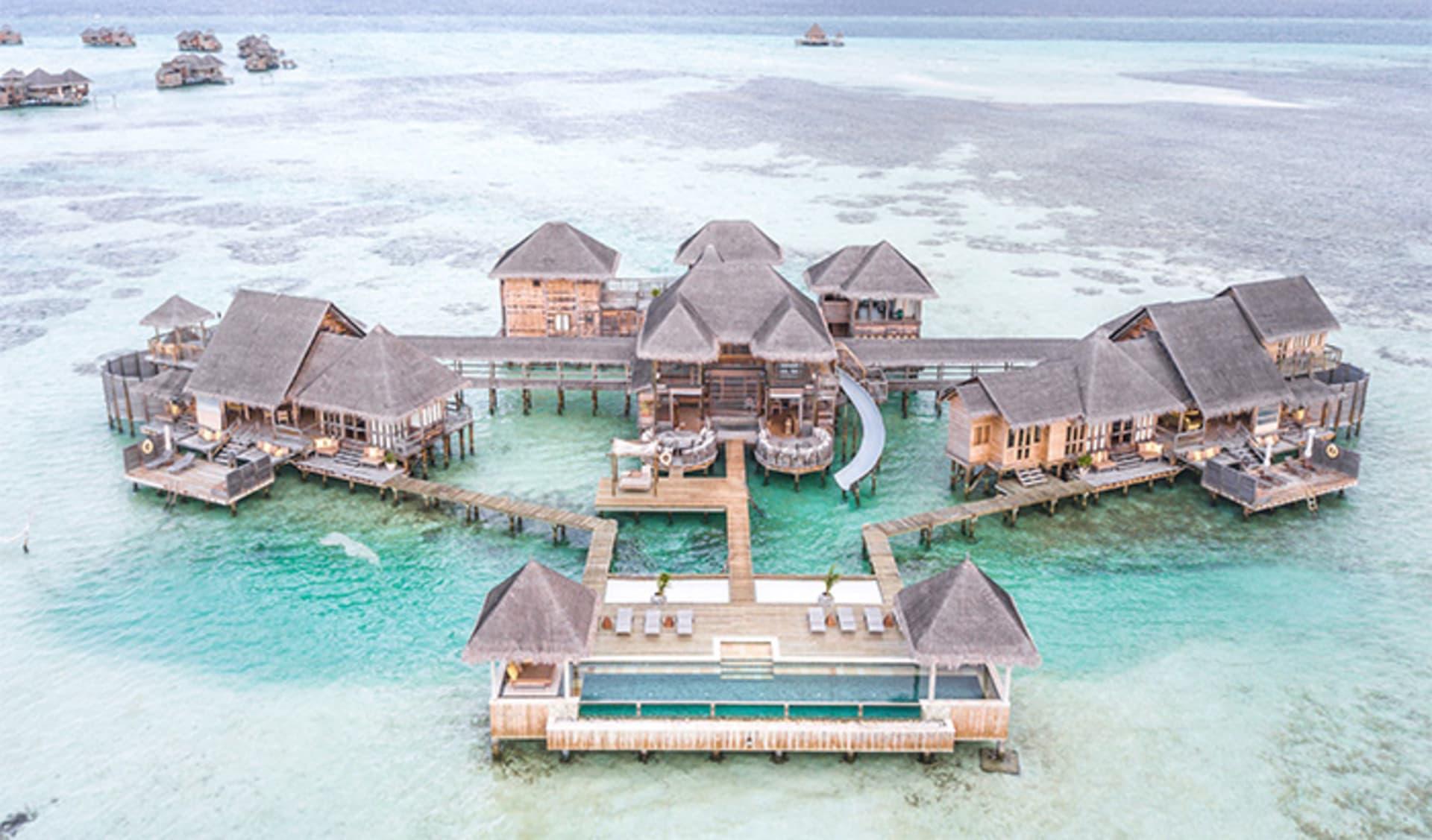 Rutschbahn, Luxus, Malediven