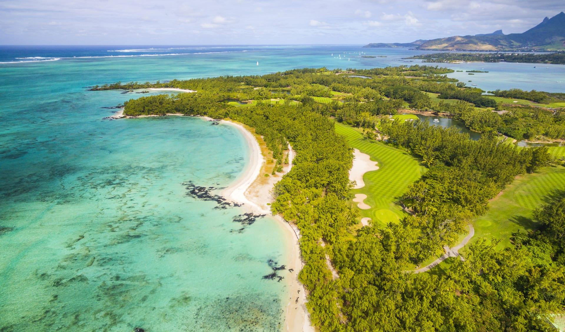 Ile Aux Cerf Beach Island Golf Club, Mauritius