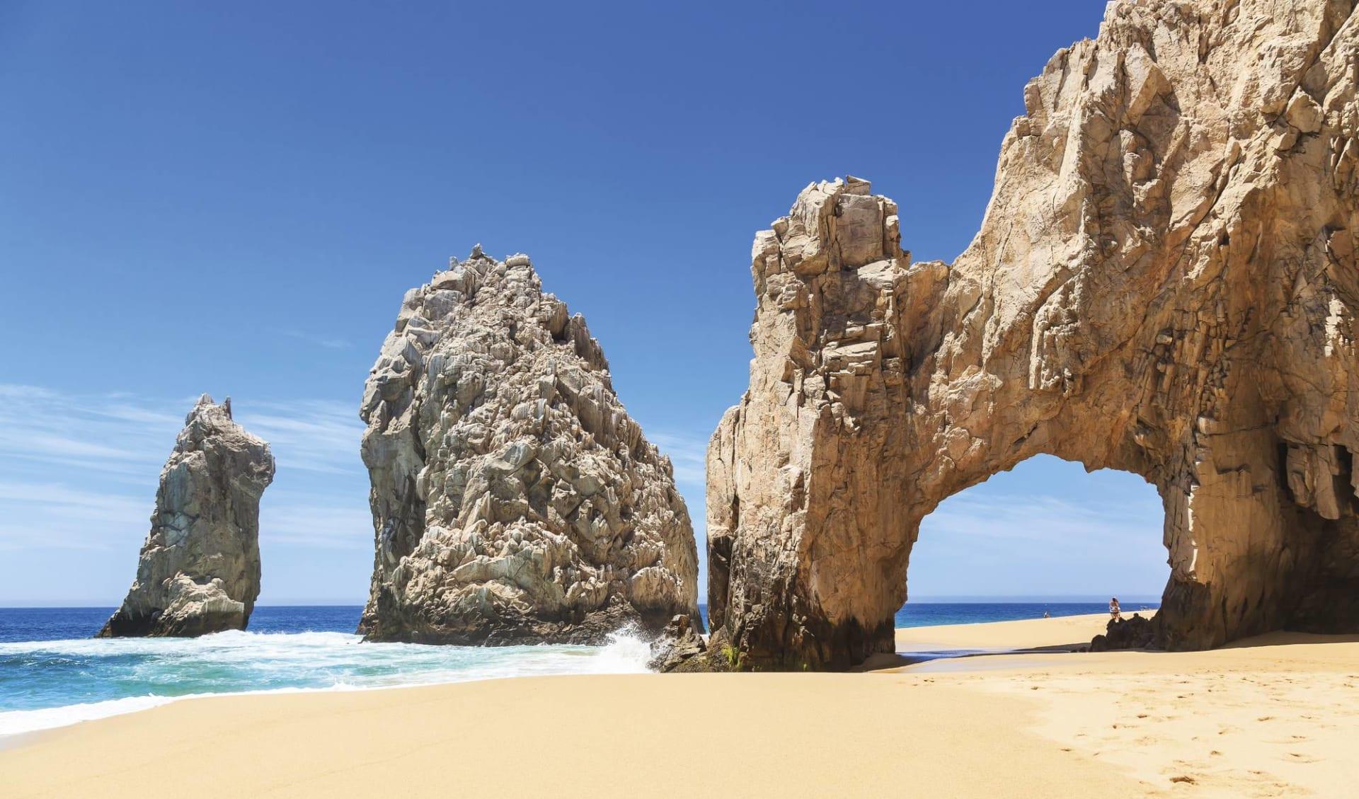 Höhepunkte Baja California ab La Paz: Mexico - Baja Calirfornia - Cabo San Lucas Los Arcos