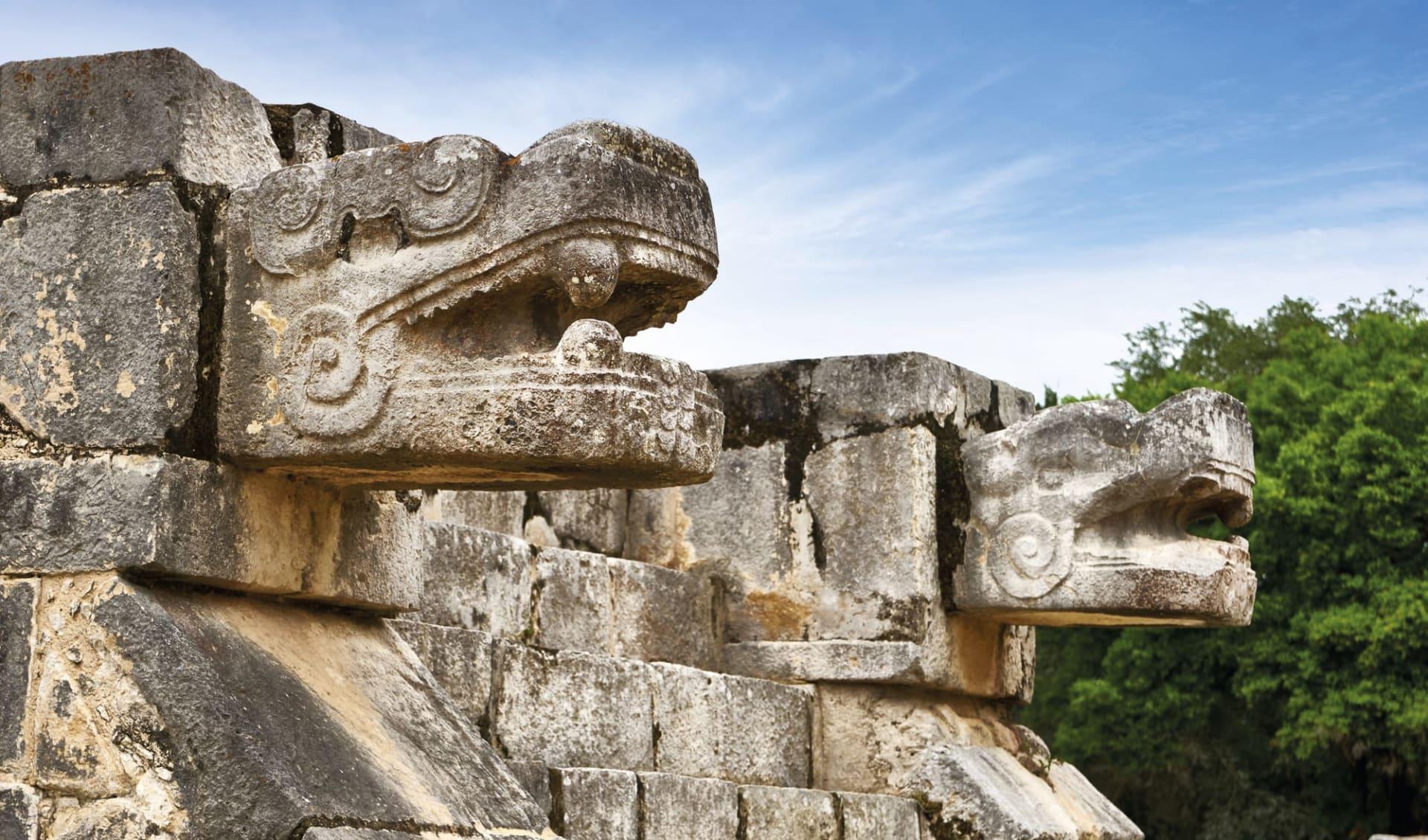 Traditionelles Mexico ab Mexico City: Mexico - Yucatan - Chichen Itza Maya Ruinen