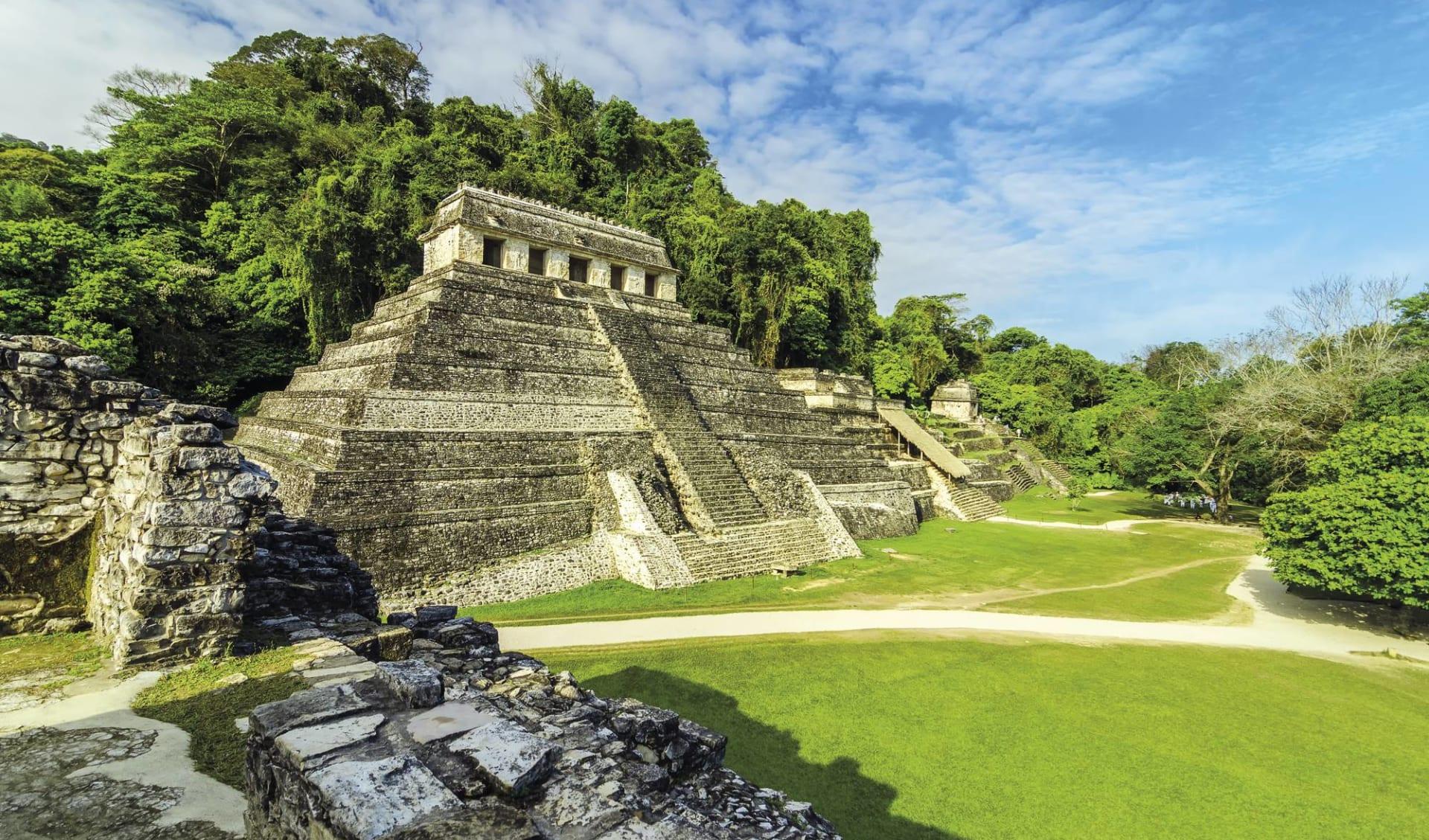 Yucatán und Chiapas ab Cancun: Mexiko - Palenque - Maya Tempel