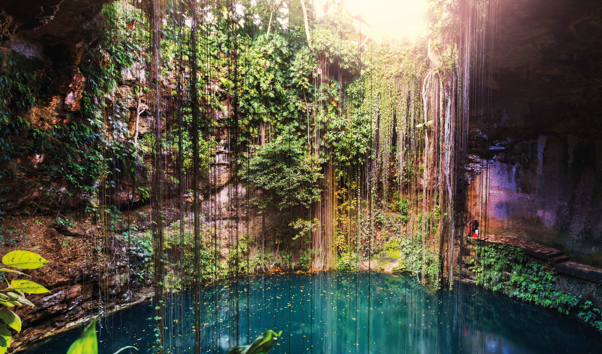 Premium: Yucatán Haciendas ab Cancun: Mexiko - Yucatan - Cenote Ik - Kil