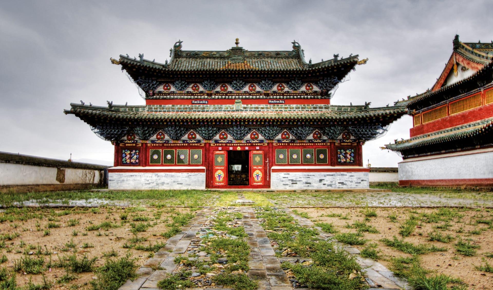 Hauptstadt des Dschingis Khan ab Ulaanbaatar: Mongolei_Karakorum_Kloster_