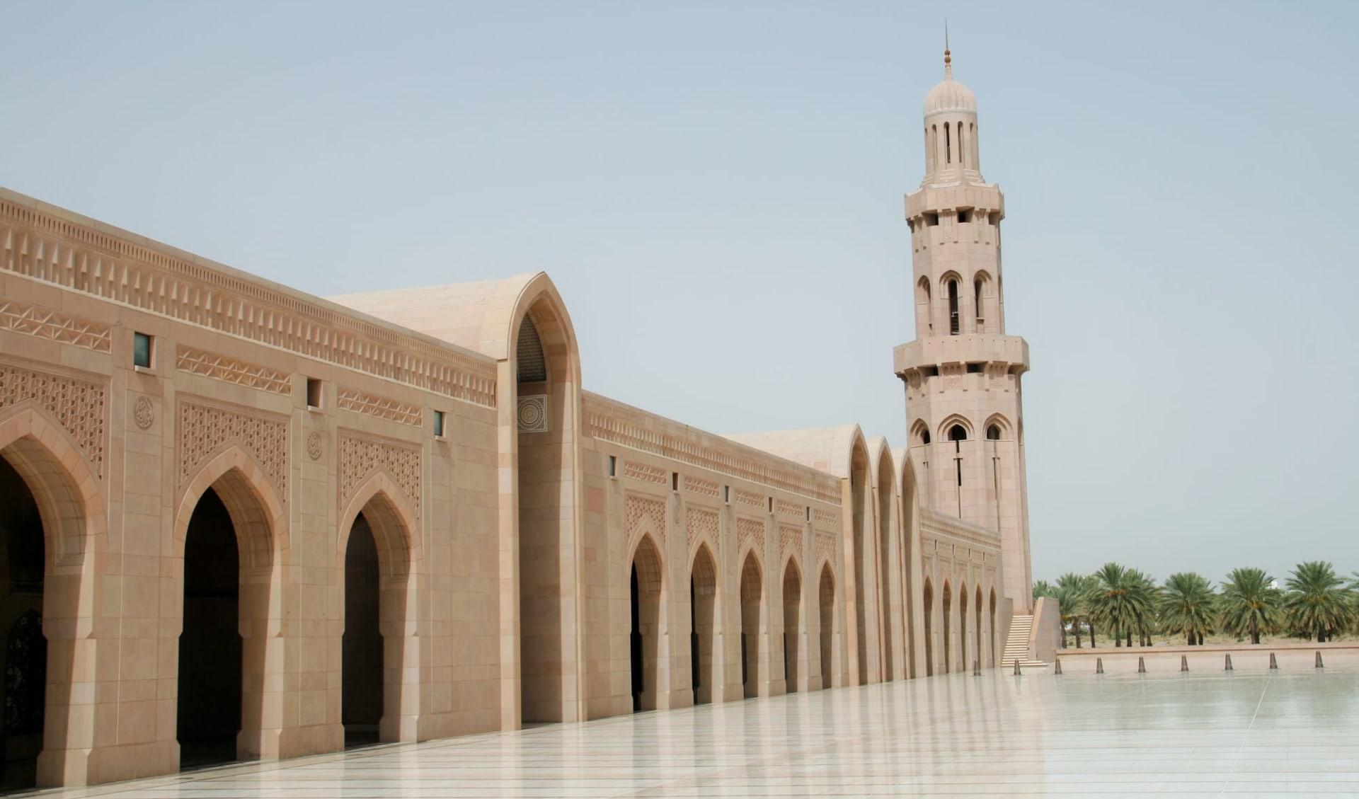 Oman zum Kennenlernen ab Muscat: Moschee in Muscat