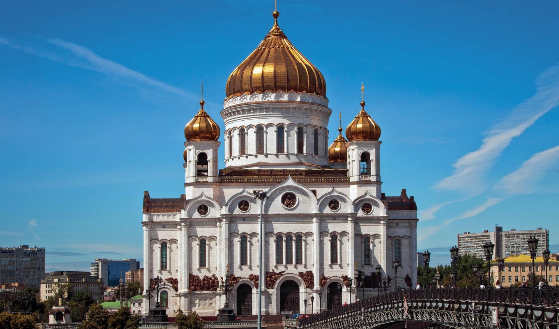 Auf den Wasserwegen der Zaren ab Moskau: Moskau für Geniesser_Erlöser-Kathedrale