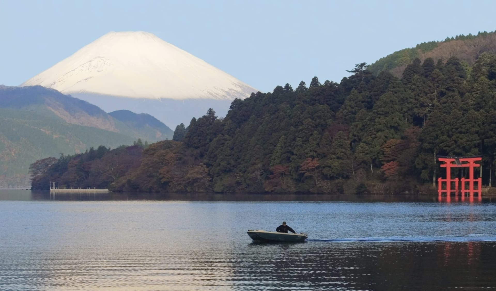 Klassisches Japan ab Tokio: Mt. Fuji: with lake