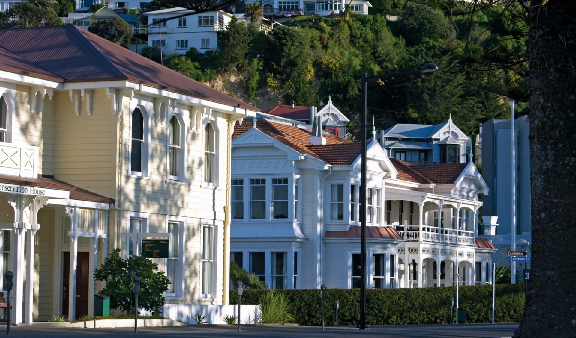 Höhepunkte der Nordinsel (AAT Kings) ab Auckland: Napier - Häuser