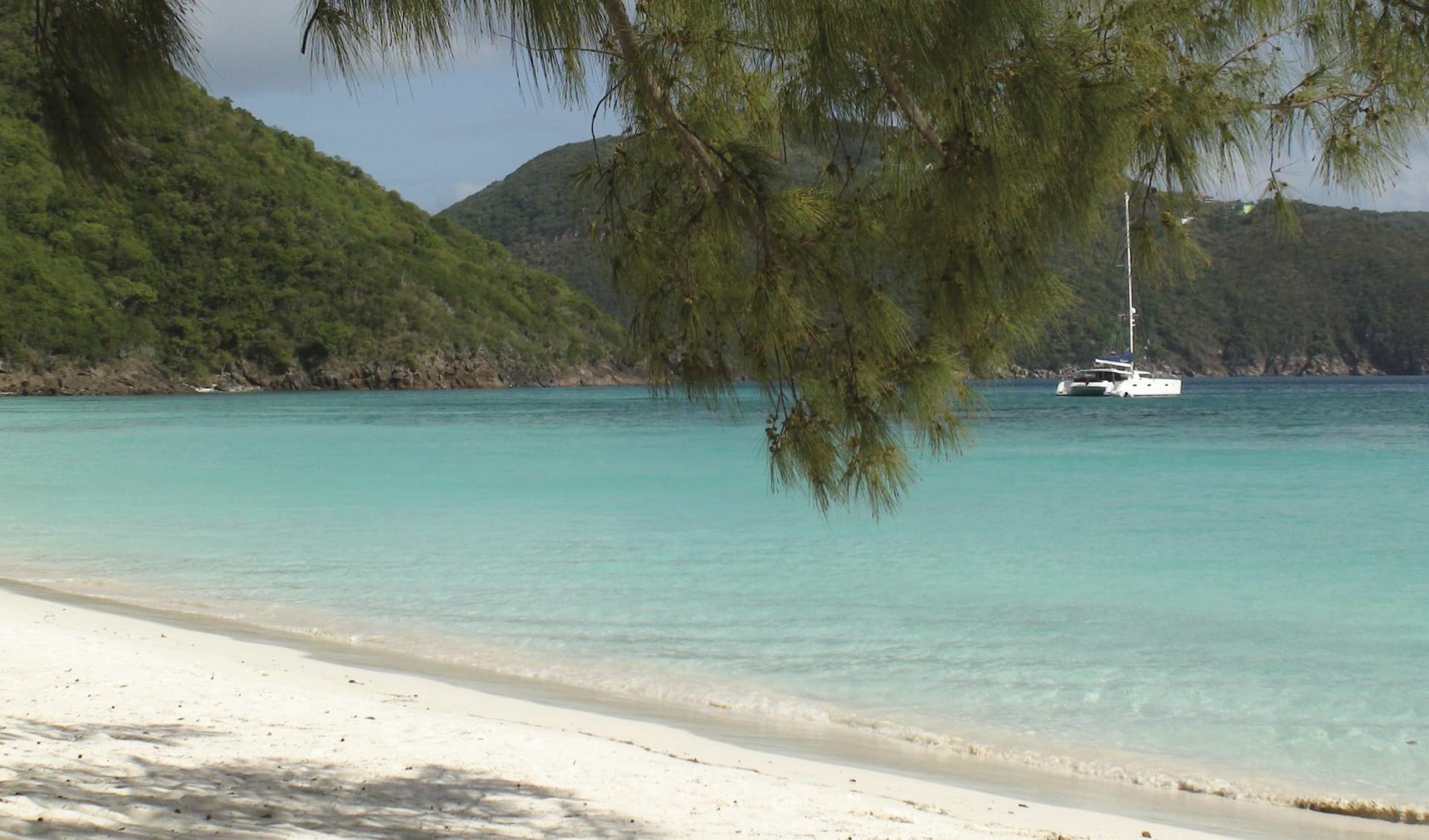 Guana Island Resort: natur guana island strand meer
