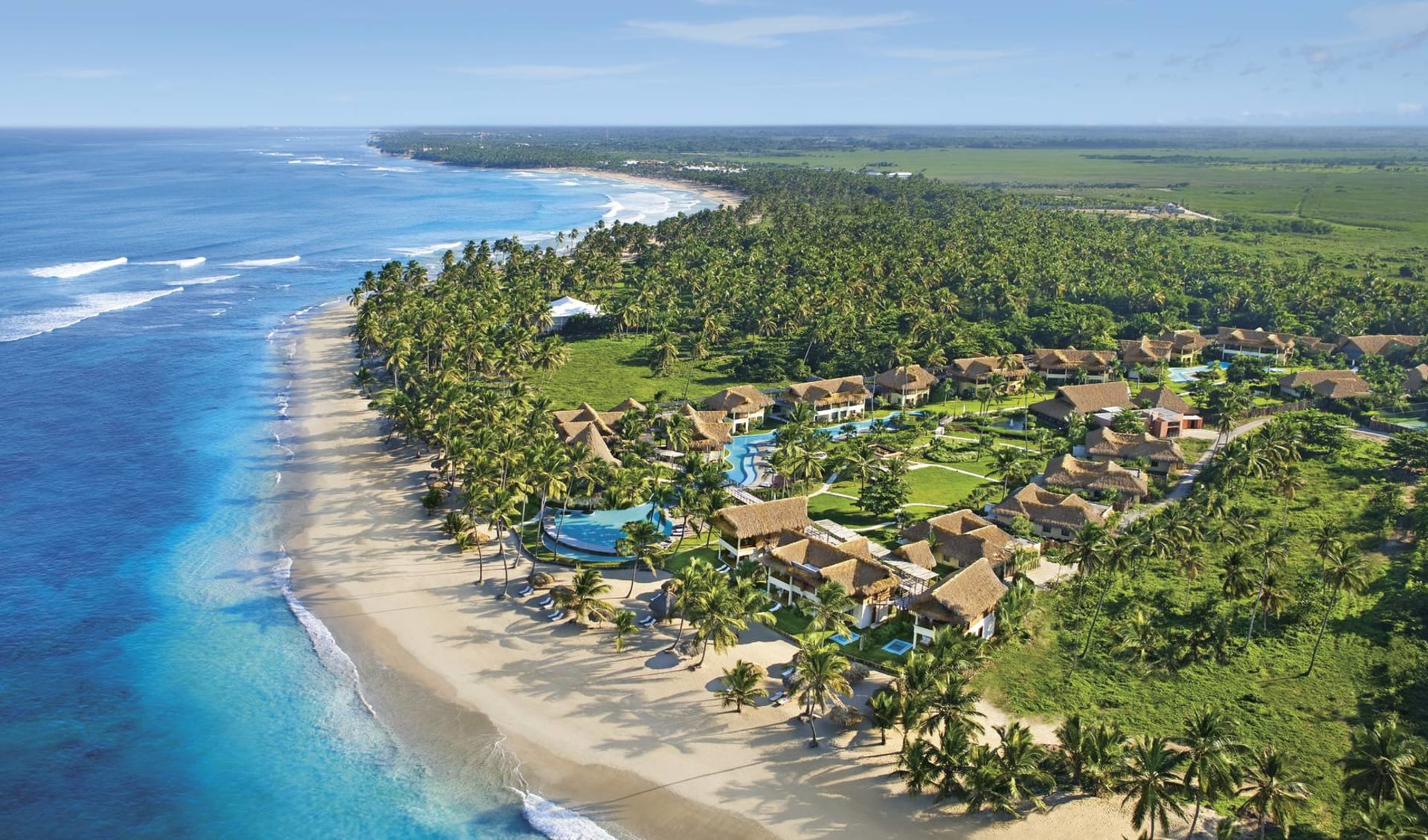 Zoëtry Agua Punta Cana: natur zoetry agua punta cana meer strand vogelansicht