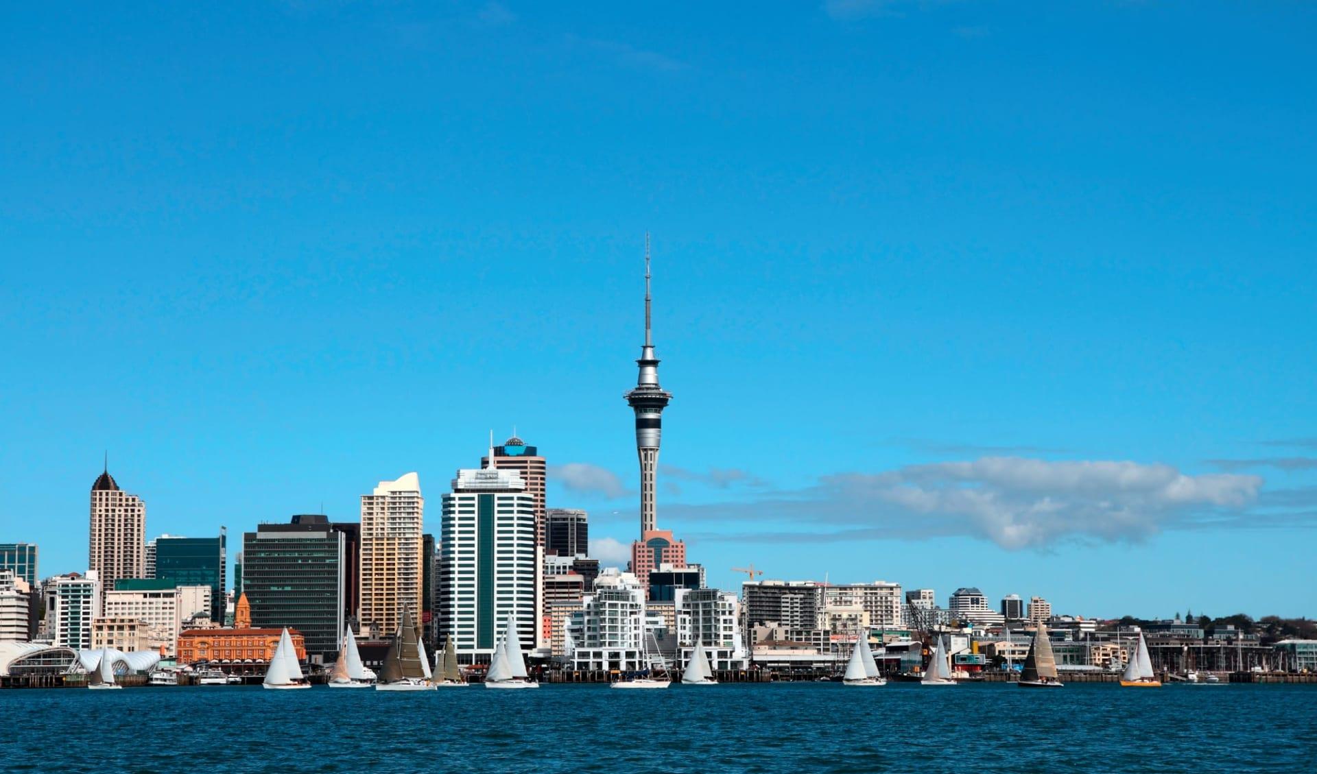 Zauber der Nordinsel ab Auckland: Neuseeland - Auckland - Auckland Skyline