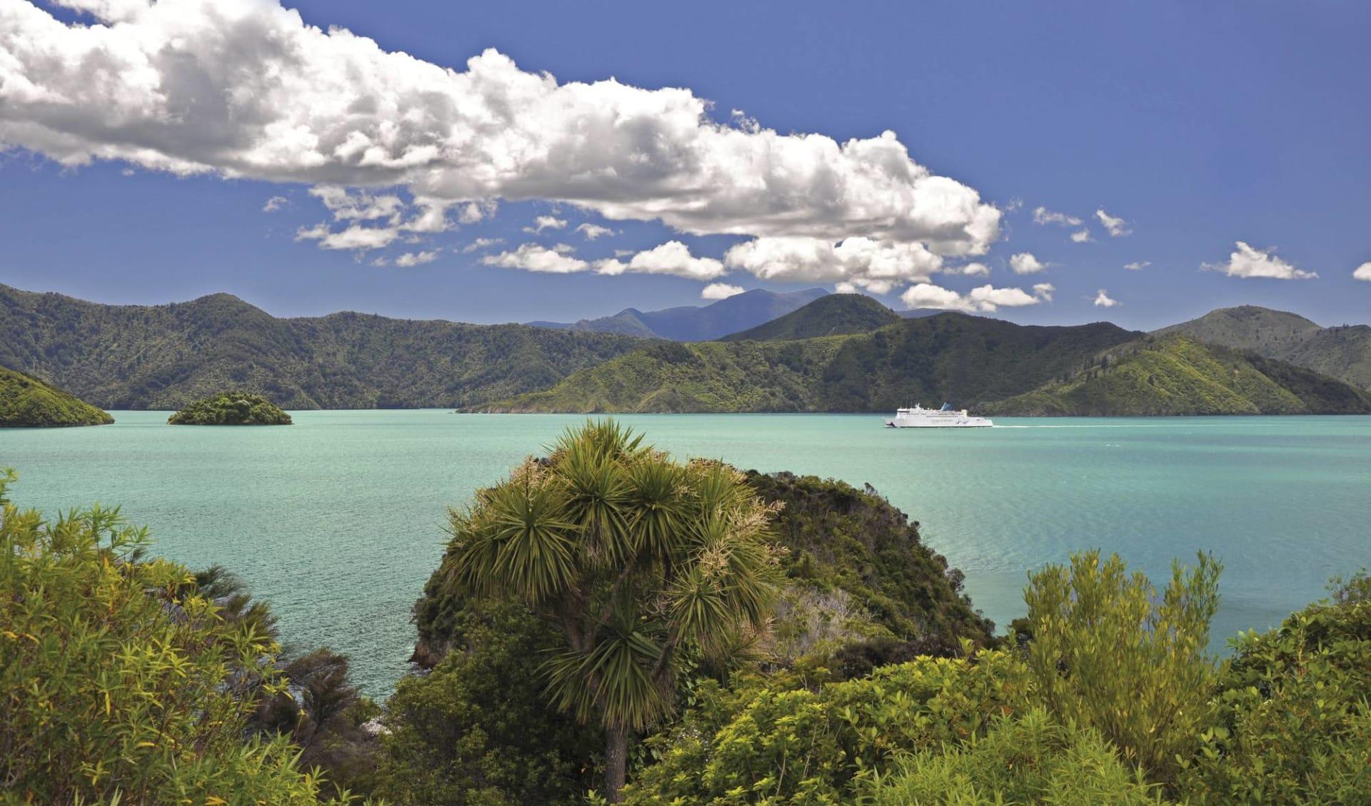 23 Tage Neuseeland bewusst erleben ab Auckland: Neuseeland - Interislander Fähre