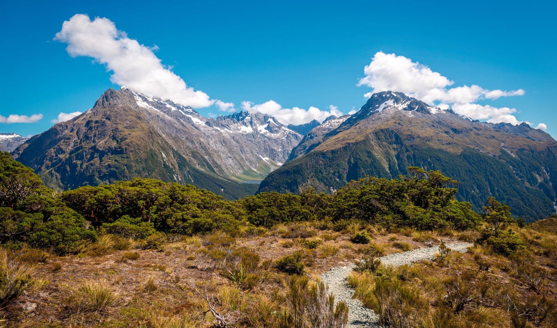 Routeburn Track ab Queenstown: Neuseeland - Key Summit Milford - South Island