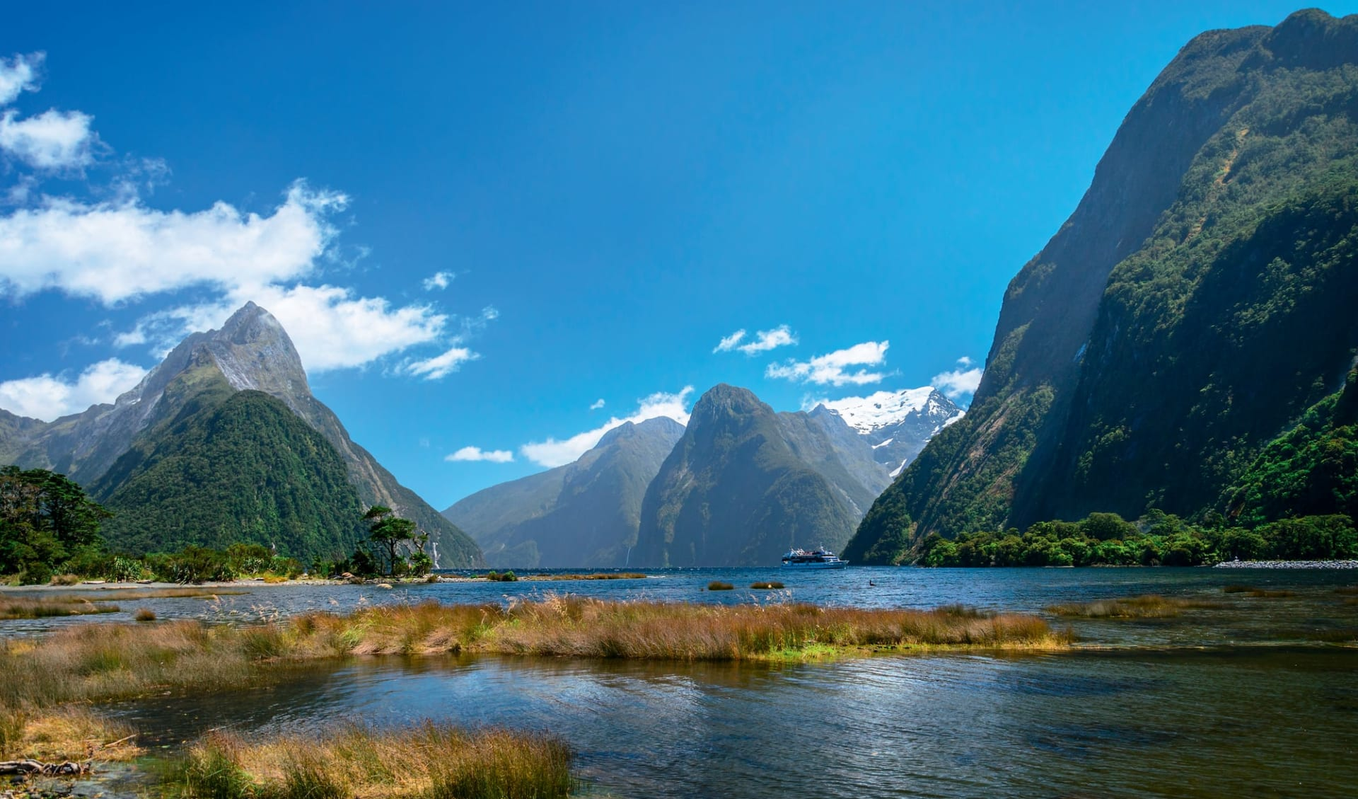 Neuseeland entdecken (Christchurch - Queenstown) (AAT Kings): Neuseeland - Südinsel - Milford Sound
