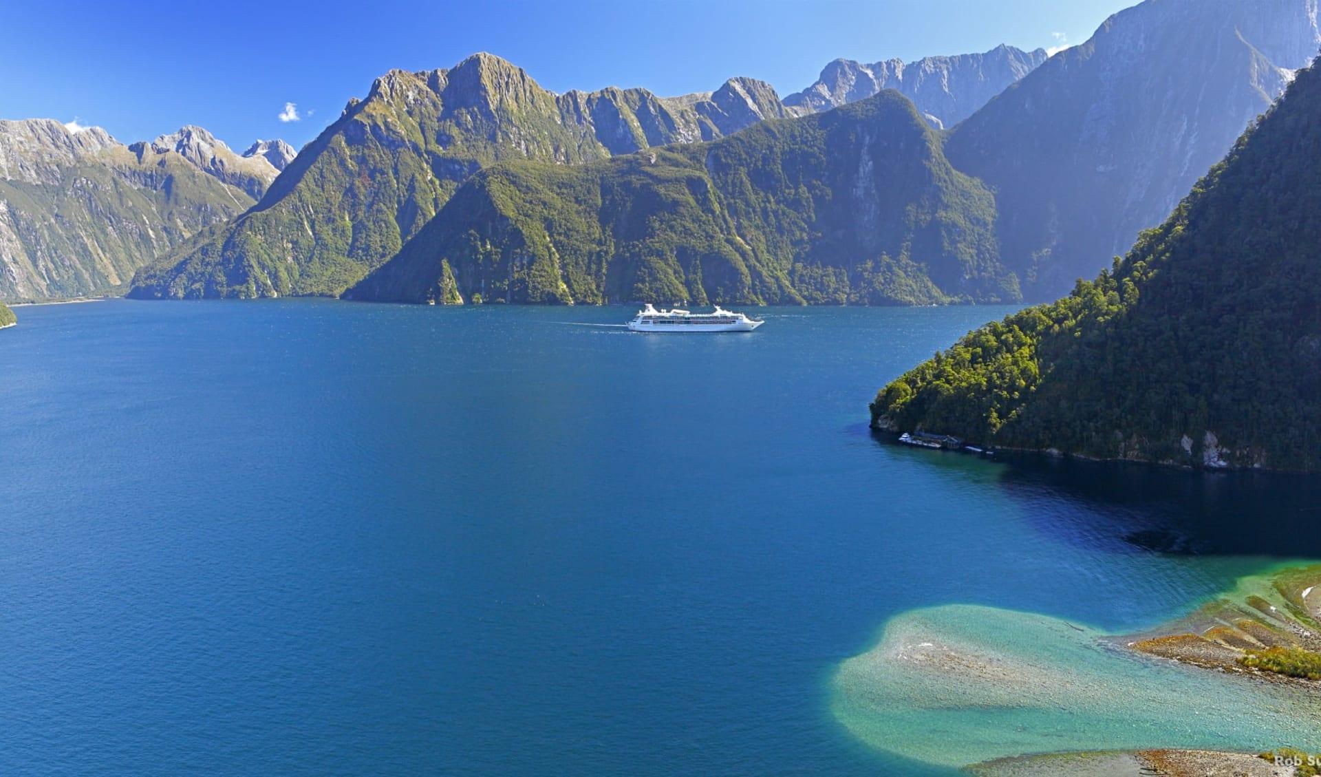 Spektakuläres Neuseeland (AAT Kings) ab Auckland: Neuseeland - Südinsel - Milford Sounds