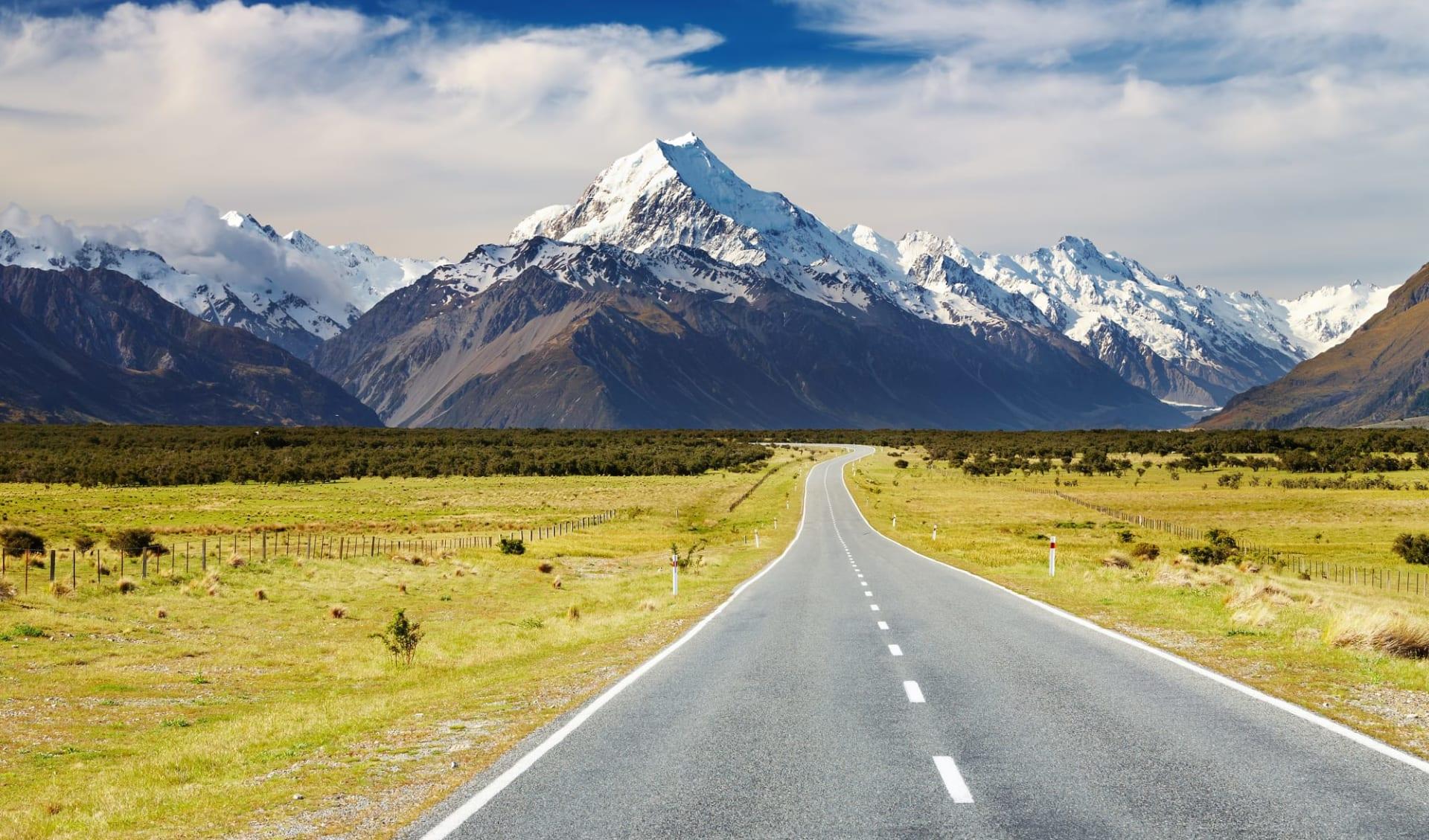 New Zealand South Island Explorer ab Christchurch: Neuseeland - Südinsel - Mount Cook