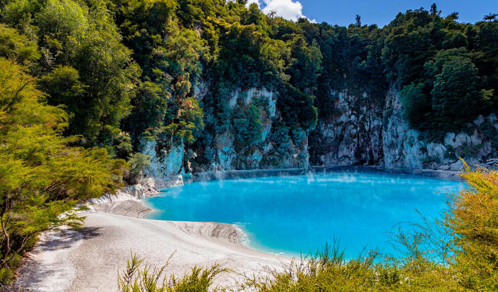 The vulcanic valley, Neuseeland