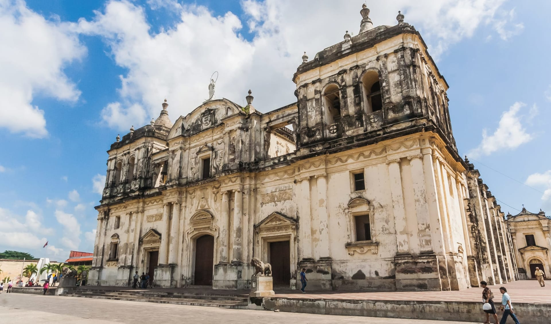 Gruppenreise Höhepunkte Nicaragua ab Managua: Kathedrale von León