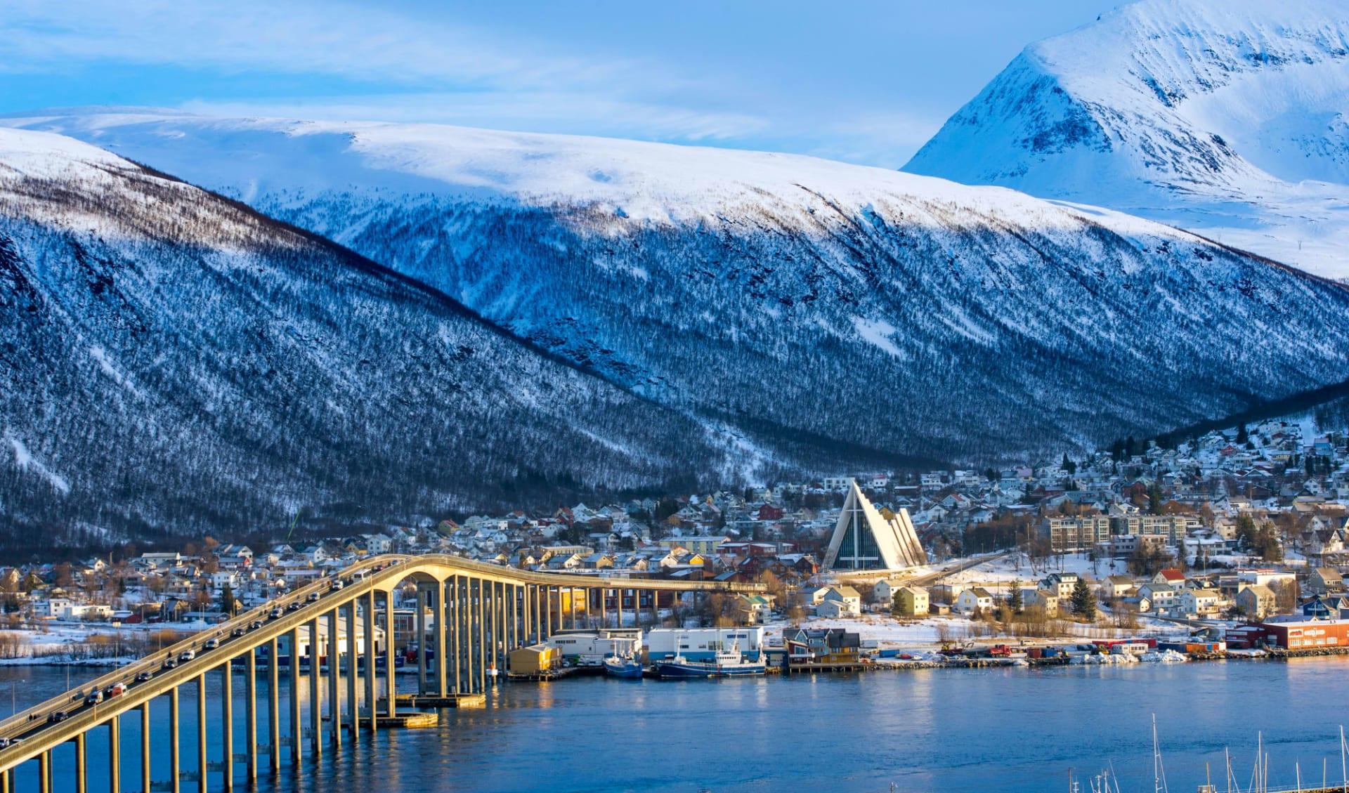Winterzauber unter den Nordlichtern ab Kopenhagen: Norwegen Tromso Winter