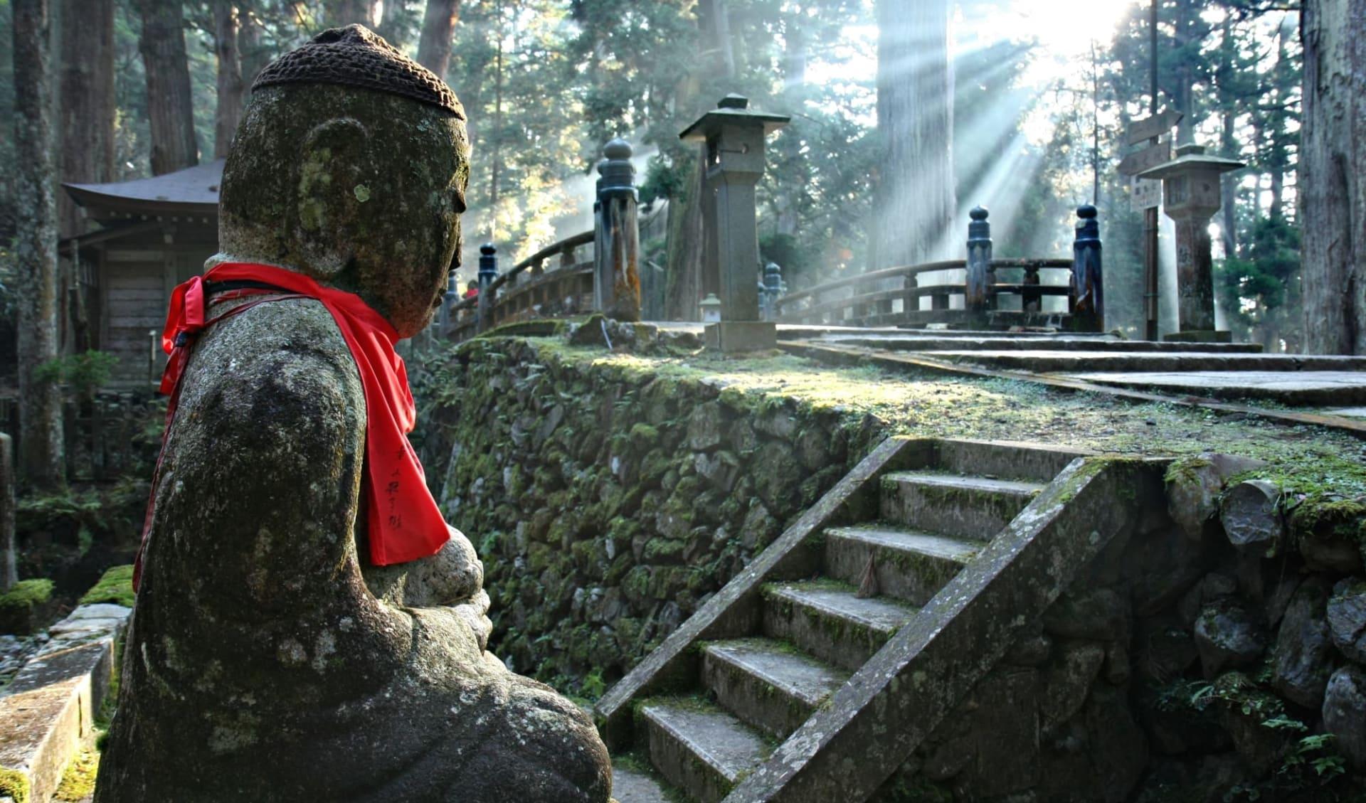 Weltkulturerbe Koya-San Klöster ab Kyoto: Okunoin Cemetery at Mount Koya