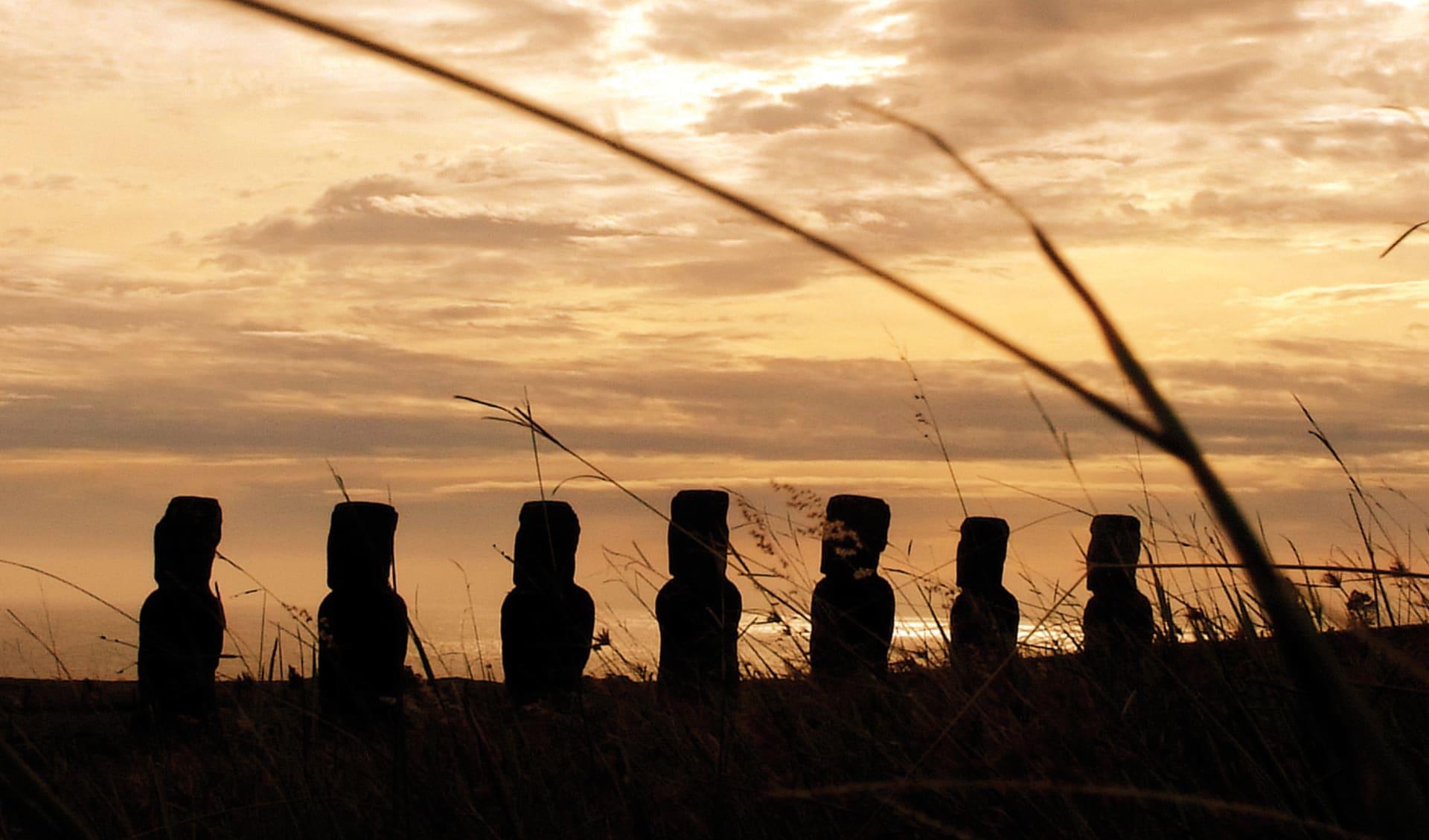 Privatreise Osterinsel - Ahus und Moais ab Hanga Roa: Osterinsel