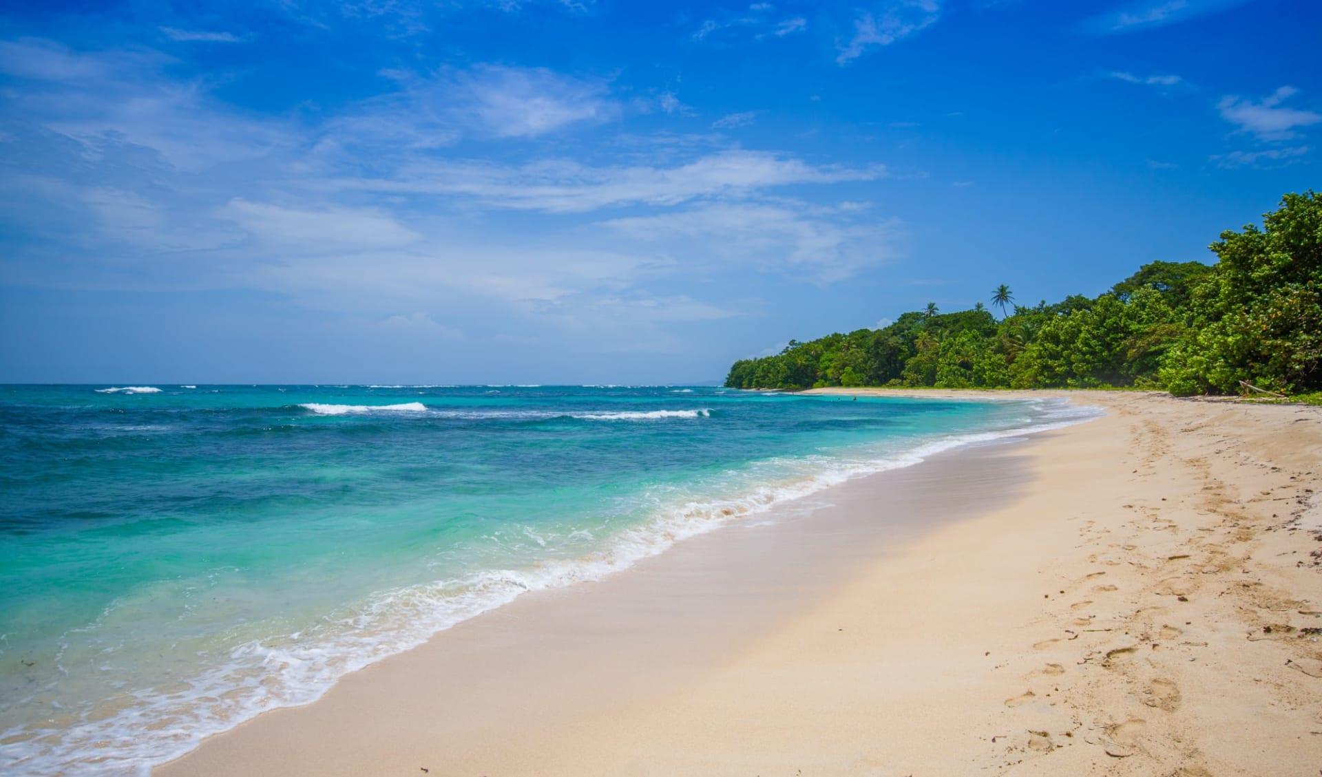 Privatreise Das Beste von Panama ab Panama City: Panama - Bocas del Toro -  Isla Zapatille Strand