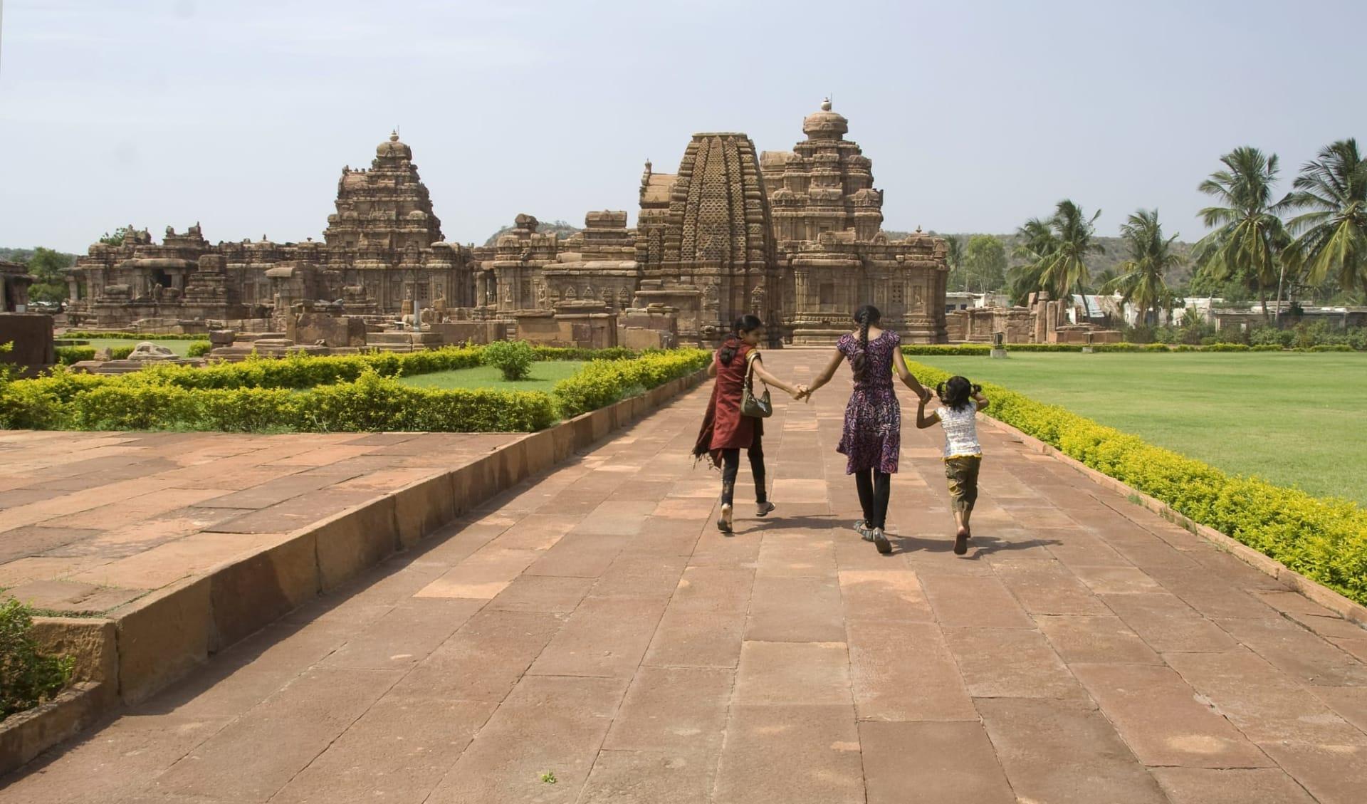 Karnatakas kulturelles Vermächtnis ab Goa: Pattadakal: temples