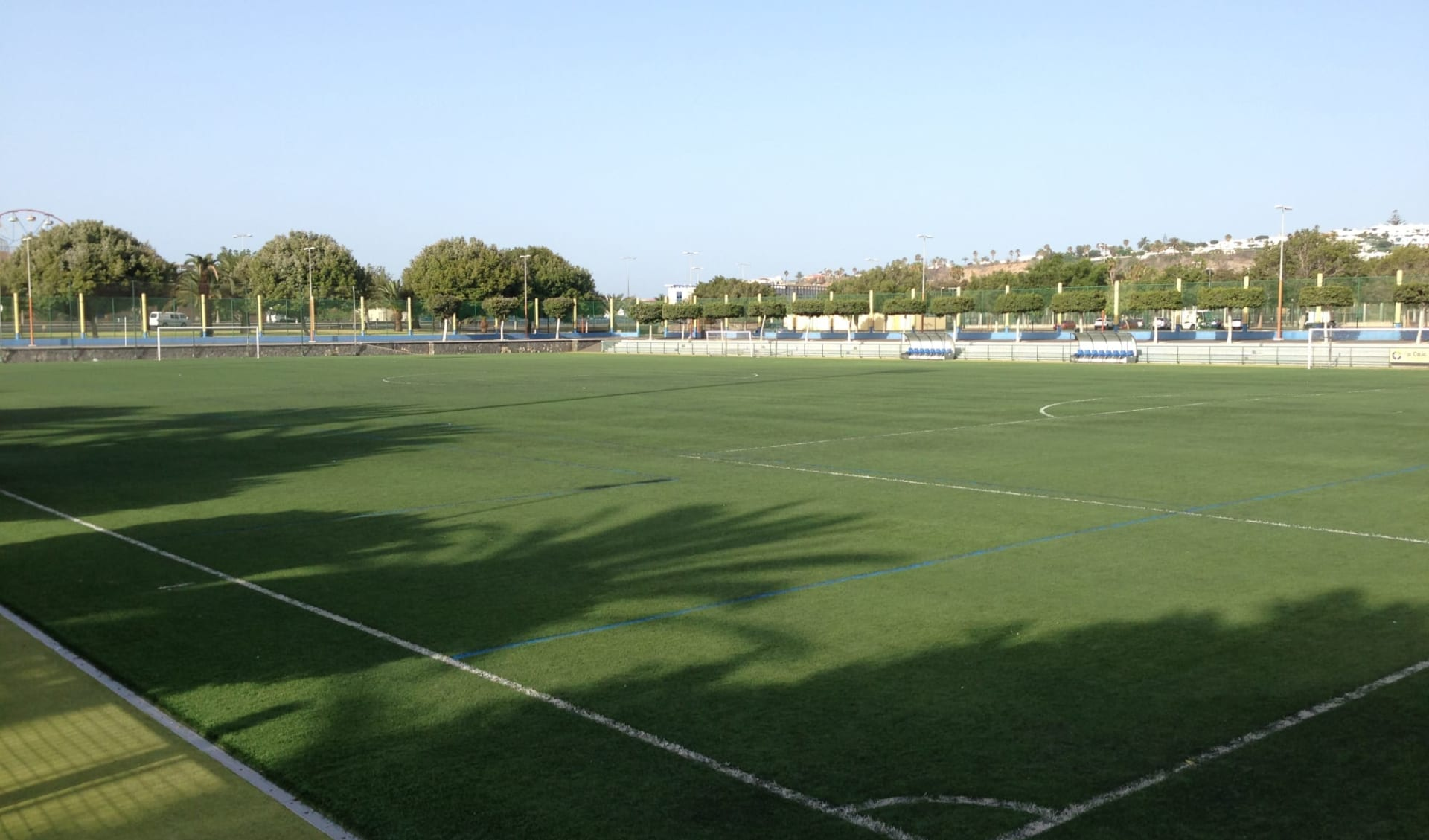 Maspalomas - Appartements Turbo Club ab Gran Canaria: Platz