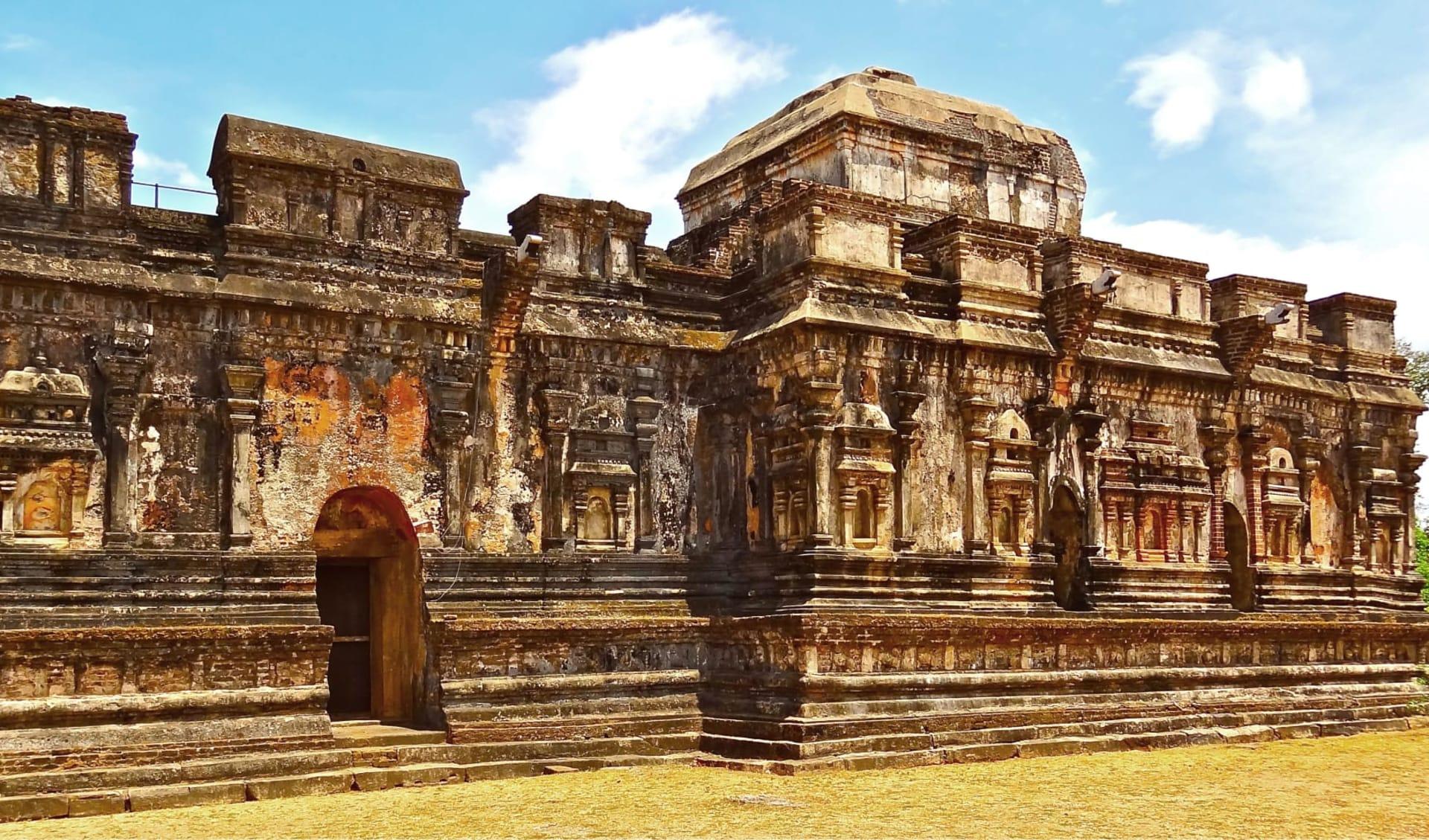 Sri Lanka aktiv erleben ab Colombo: Polonnaruwa: old temple ruin