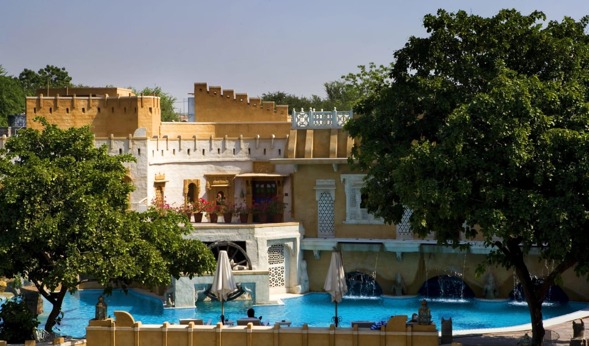 The Ajit Bhawan in Jodhpur: