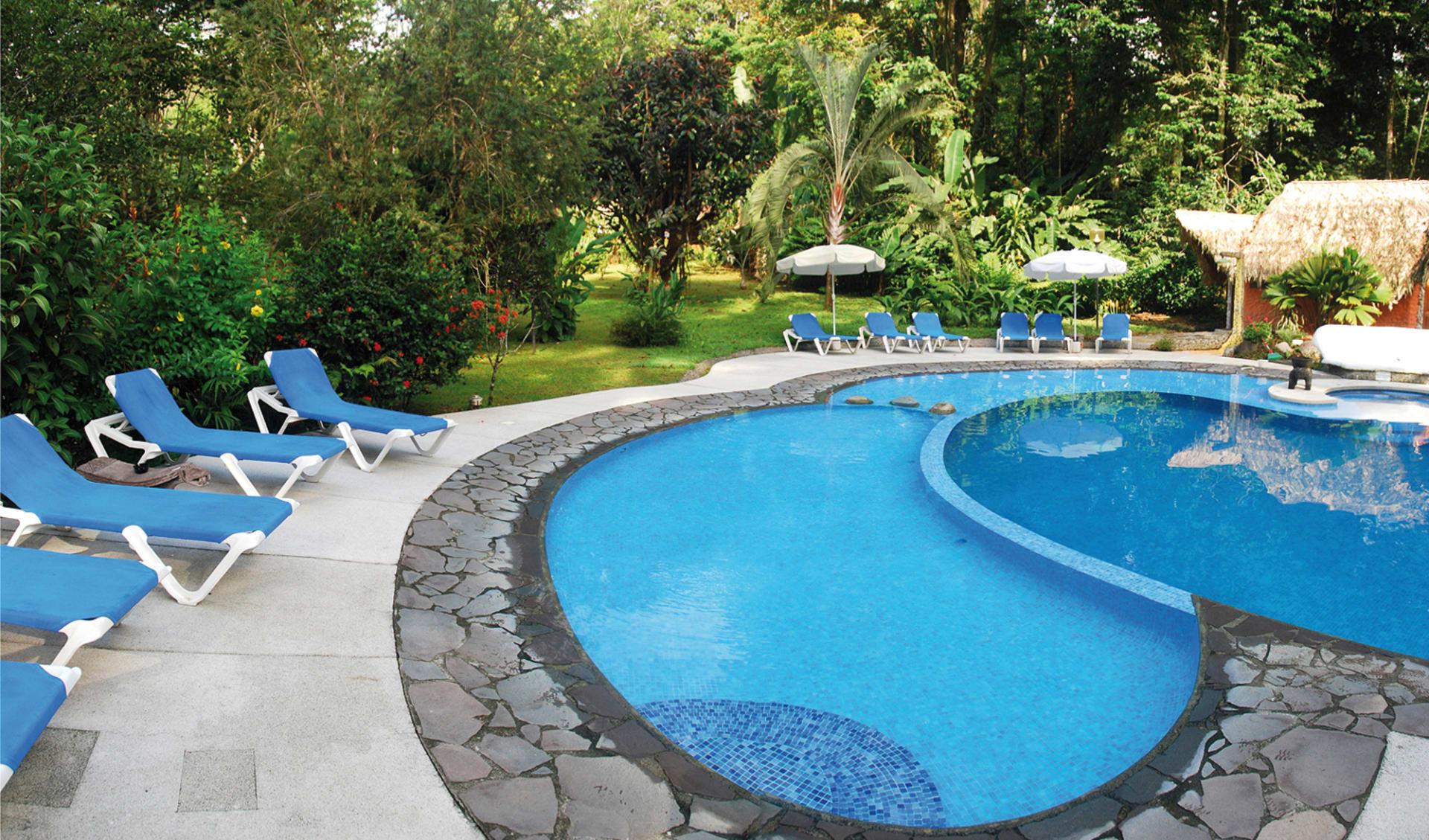 Cariblue Beach & Jungle Resort in Puerto Viejo:  Cariblue Beach and Jungle Resort - Poolanlage