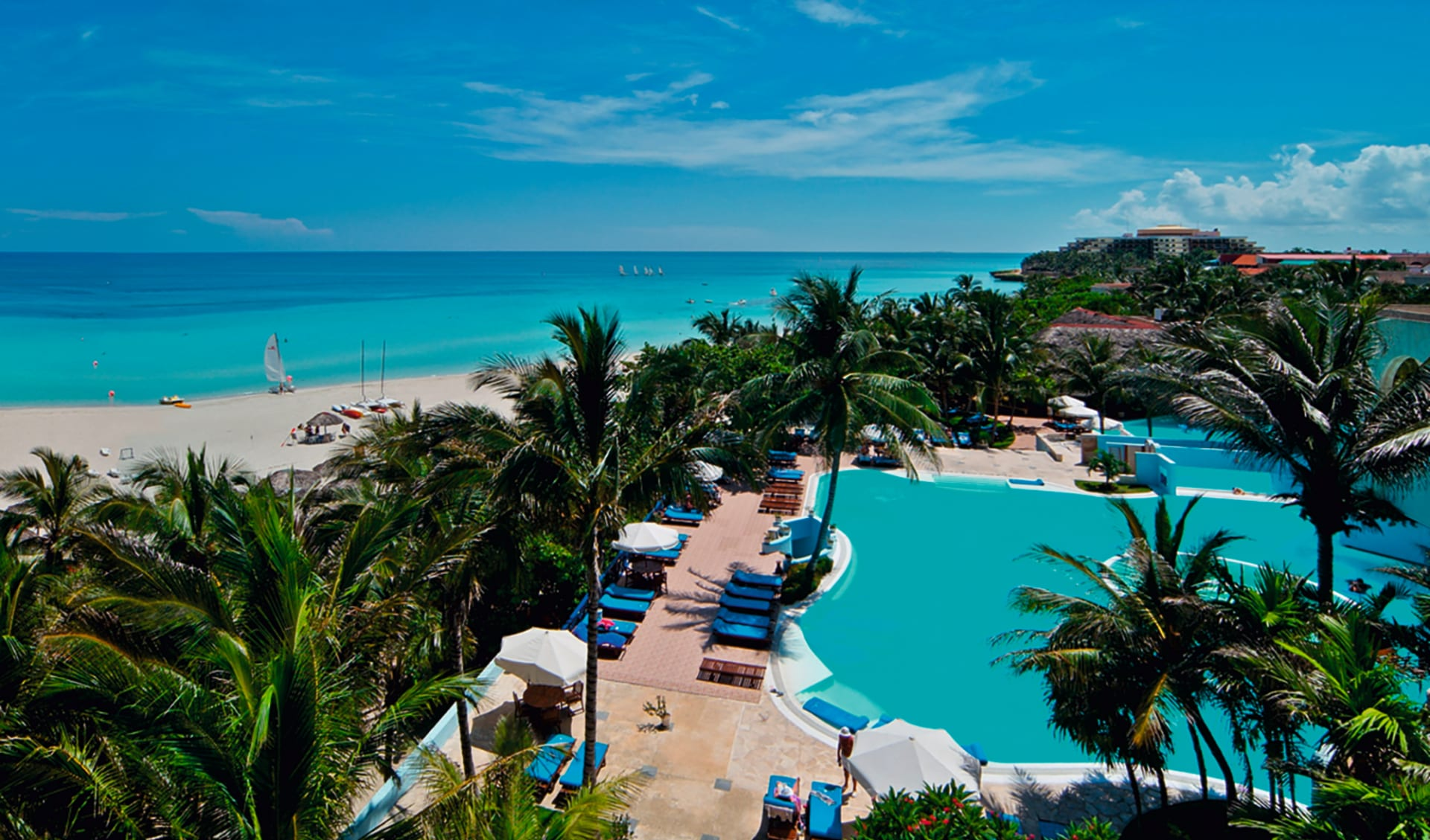 Melia Las Americas in Varadero: pool mélia las américas pool meer