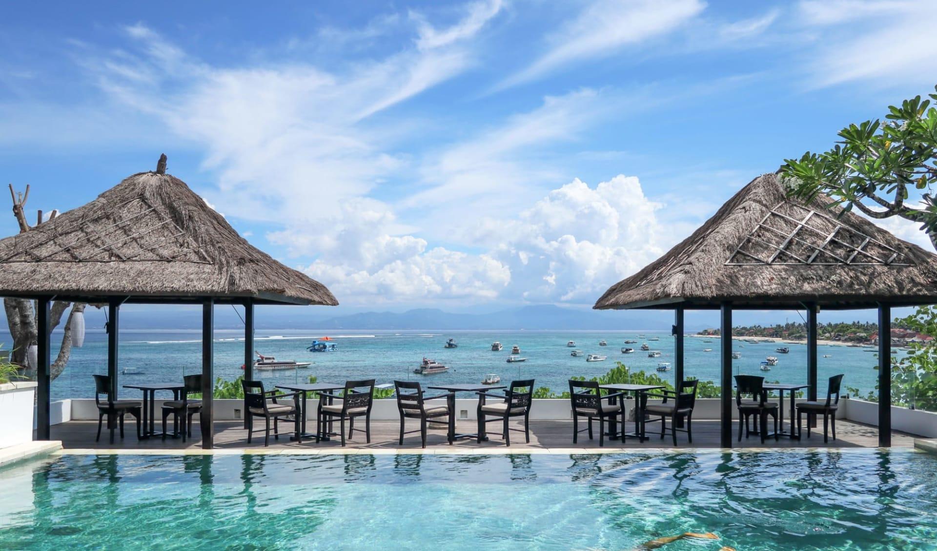 Batu Karang Lembongan Resort & Spa in Nusa Lembongan: Muntigs pool