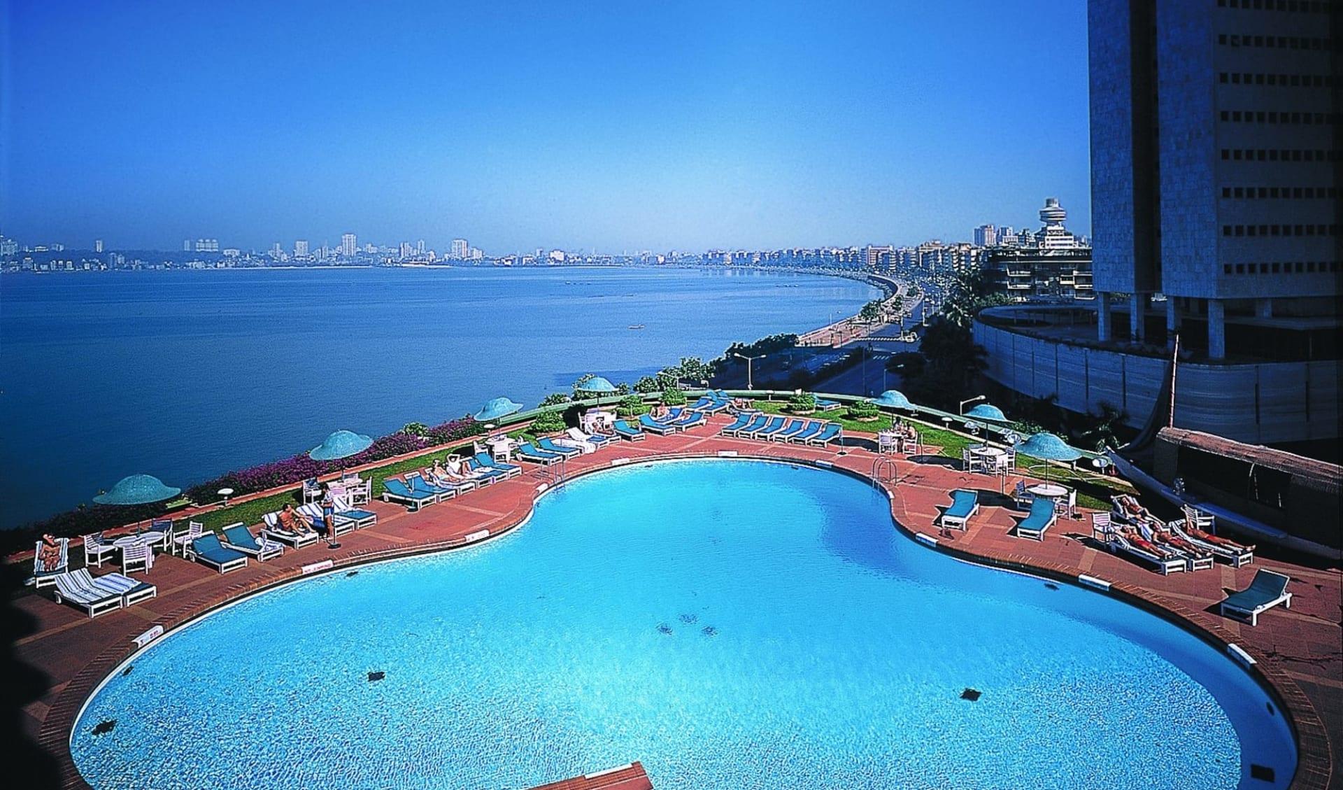 Trident Nariman Point in Mumbai: Outside Pool