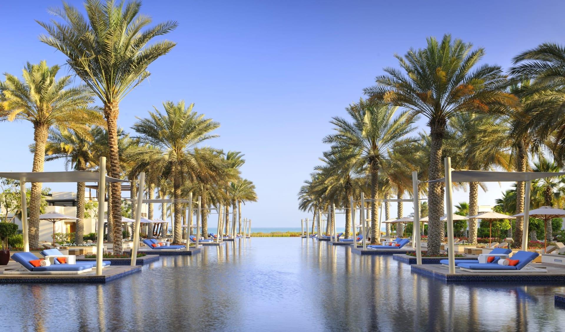 Park Hyatt Abu Dhabi Hotel & Villas:  Park Hyatt Hotel & Villas - Poolanlage