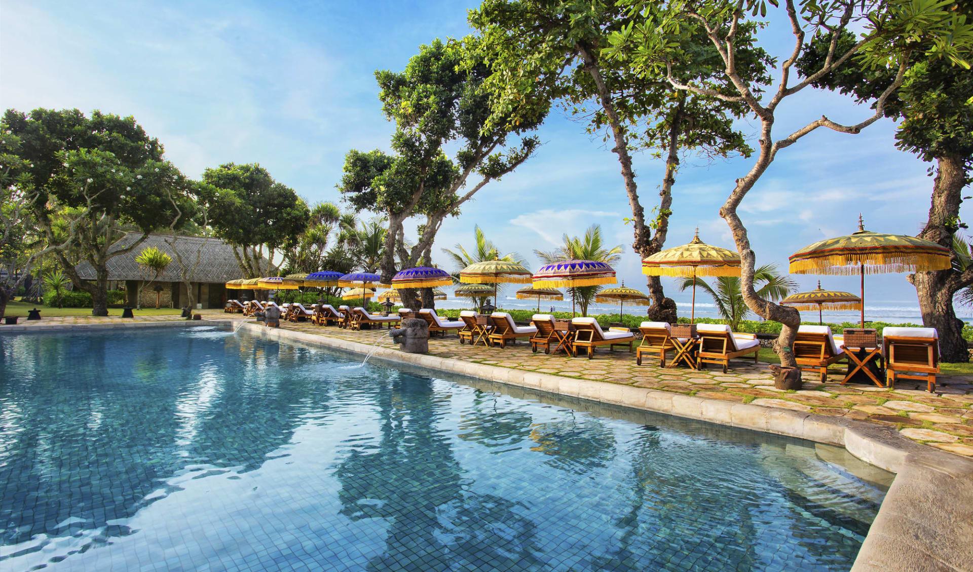 The Oberoi Beach Resort, Bali in Südbali: Pool