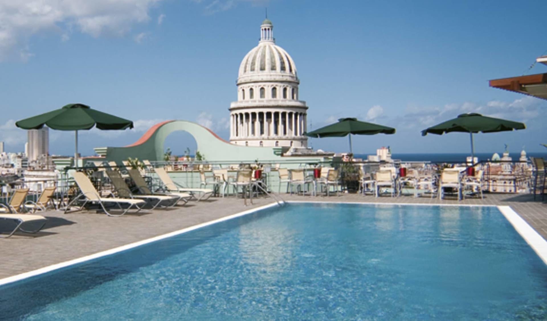 Saratoga Hotel in Havanna: pool saratoga pool