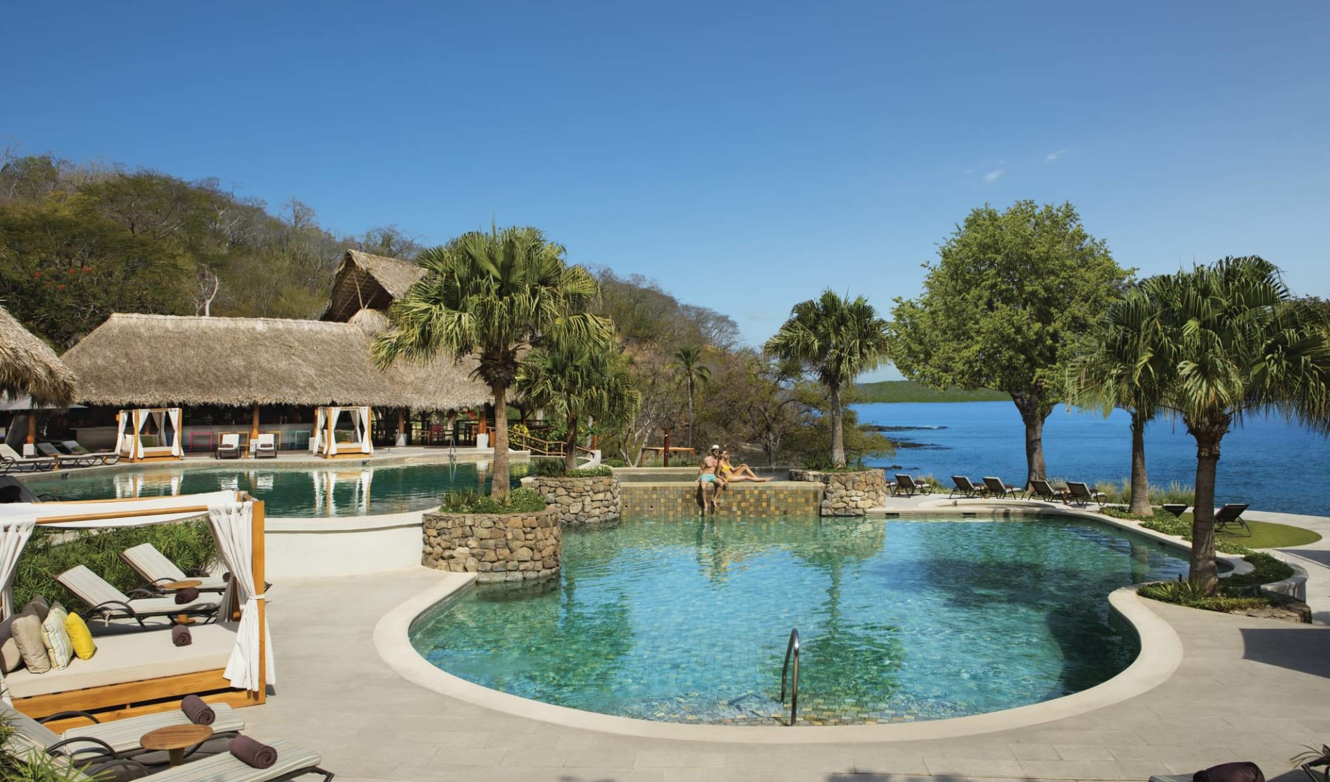 Secrets Papagayo Costa Rica in Playa Arenilla: pool Secrets Papagayo - Hauptpool amresorts weblink