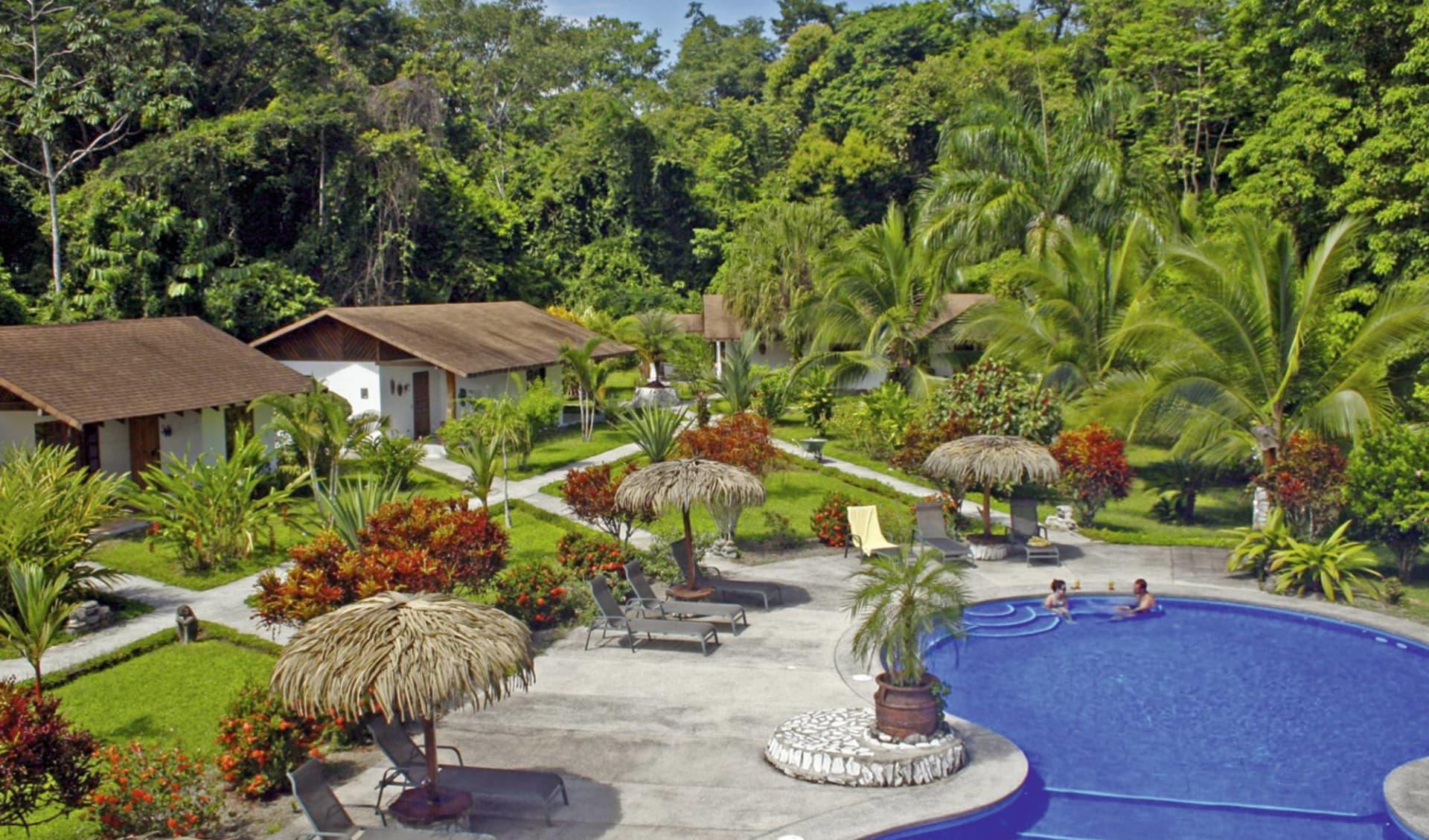 Suizo Loco Lodge in Cahuita:  Suizo Loco - Poolanlage